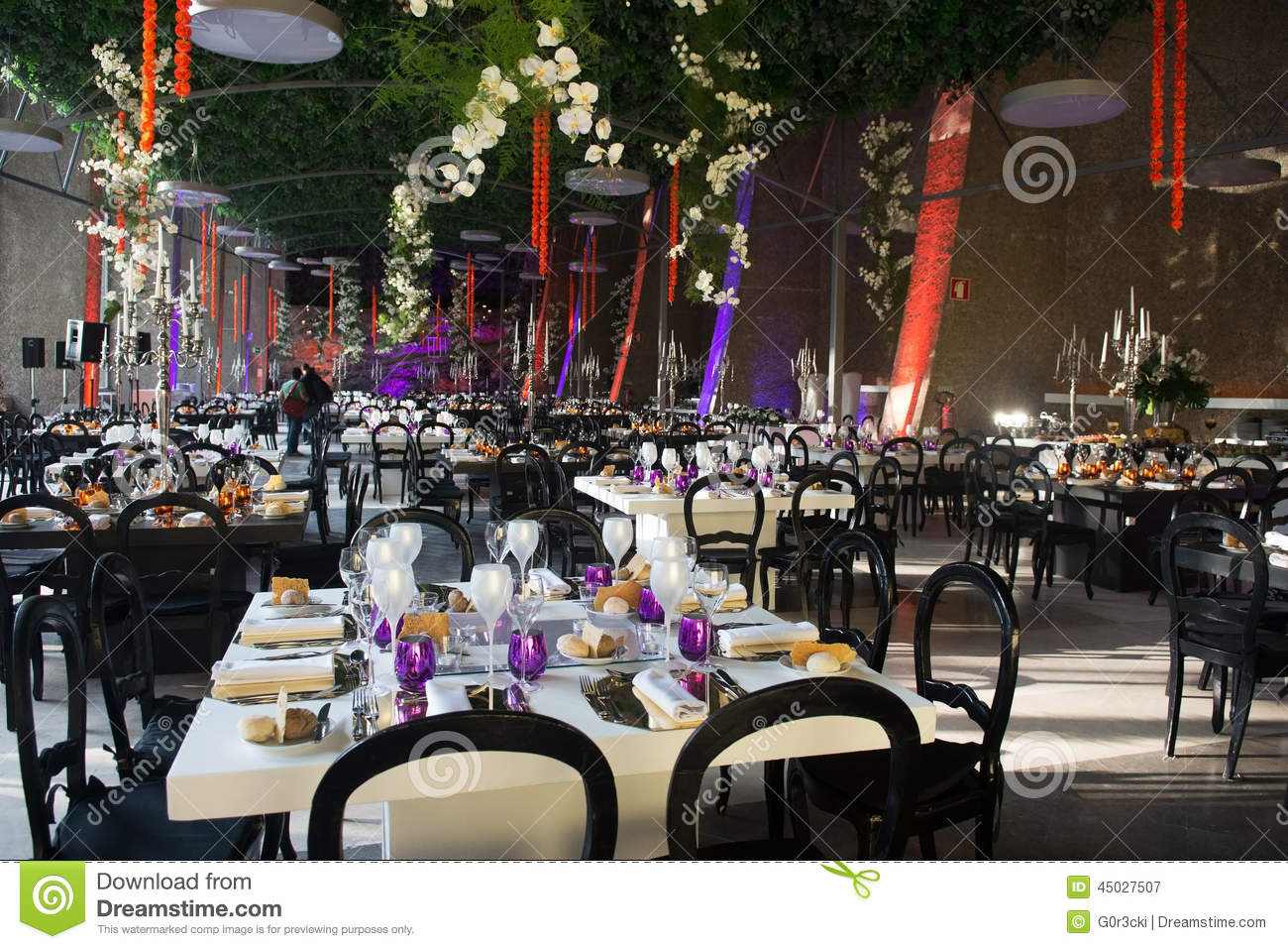 Wedding Banquet Tables Decoration Dinner Party Event