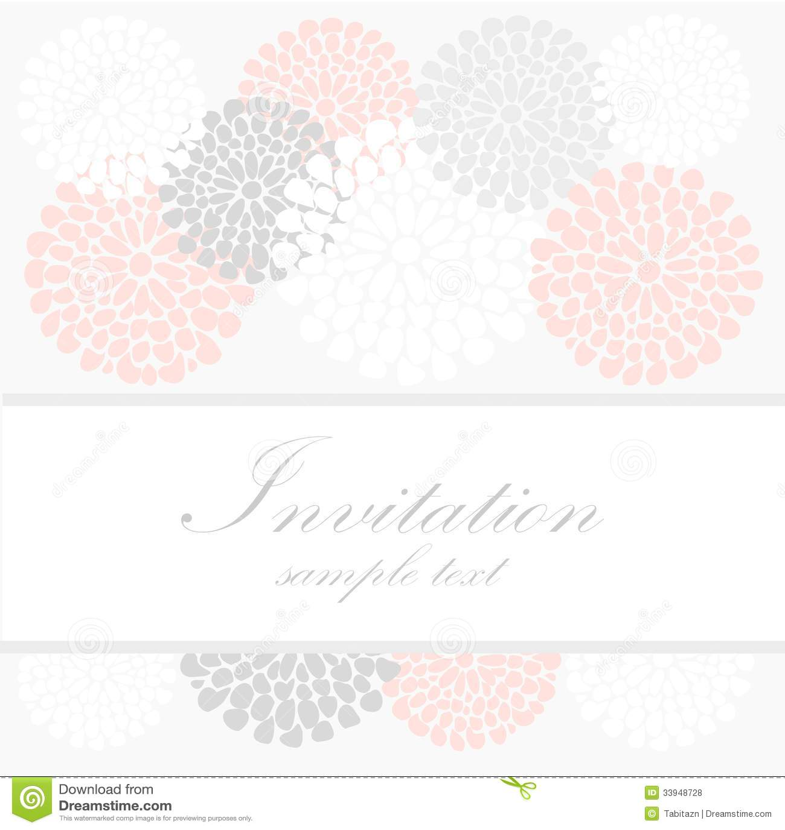 Classy Invitation Templates is perfect invitation layout