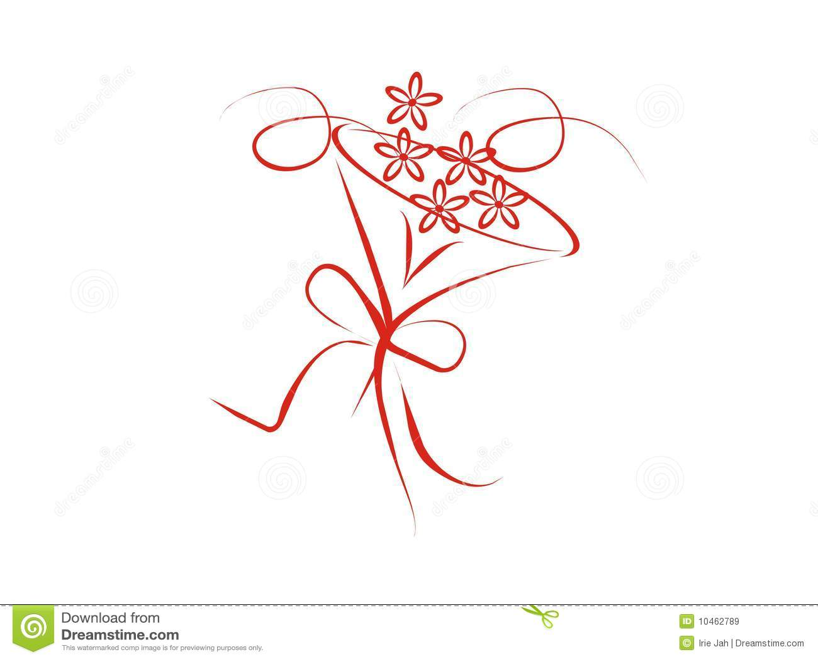Wedding boquet with flowers