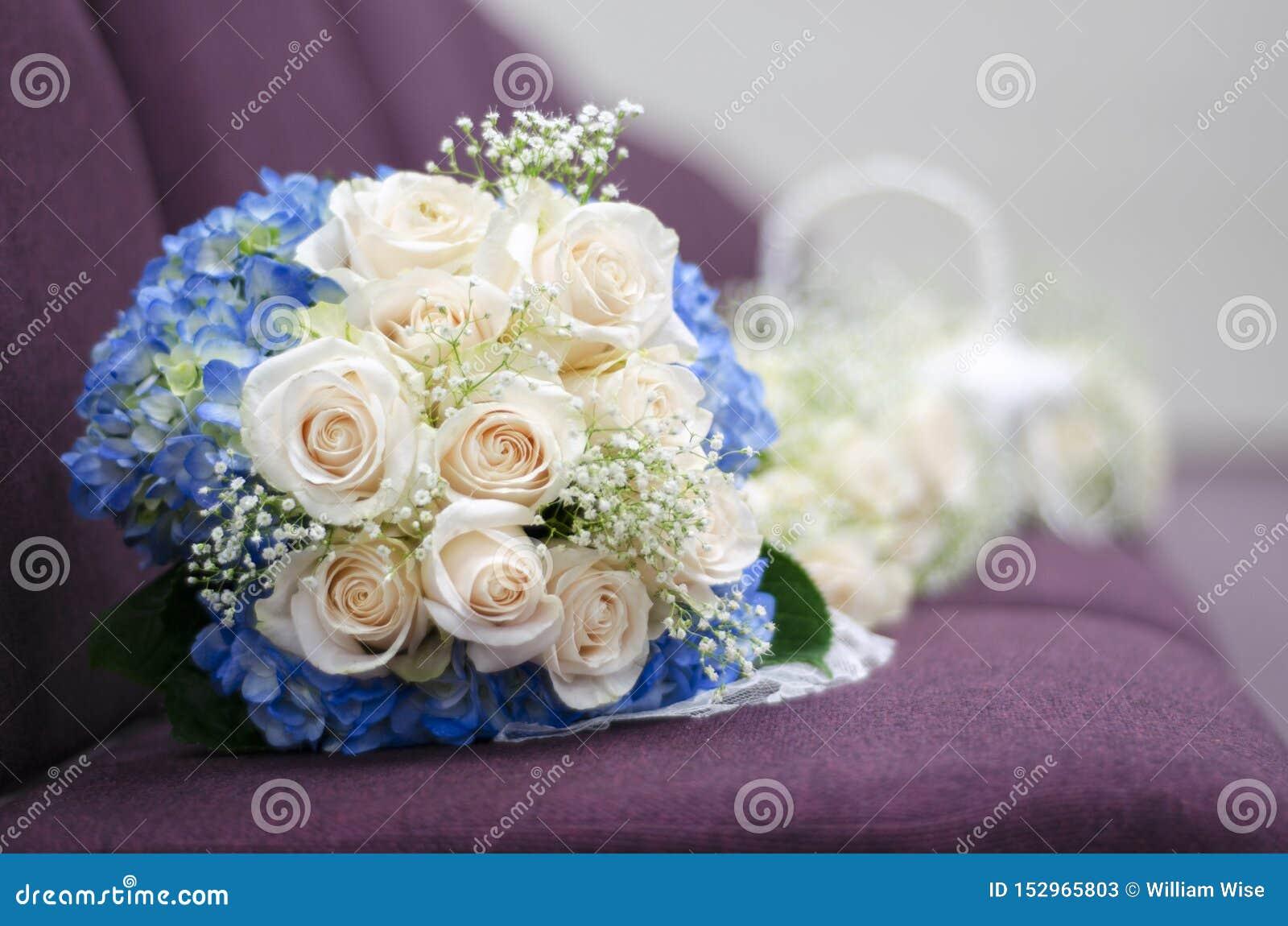 Wedding Bouquet Arrangement Rose Flowers Stock Image Image Of Boquet Arrangement 152965803