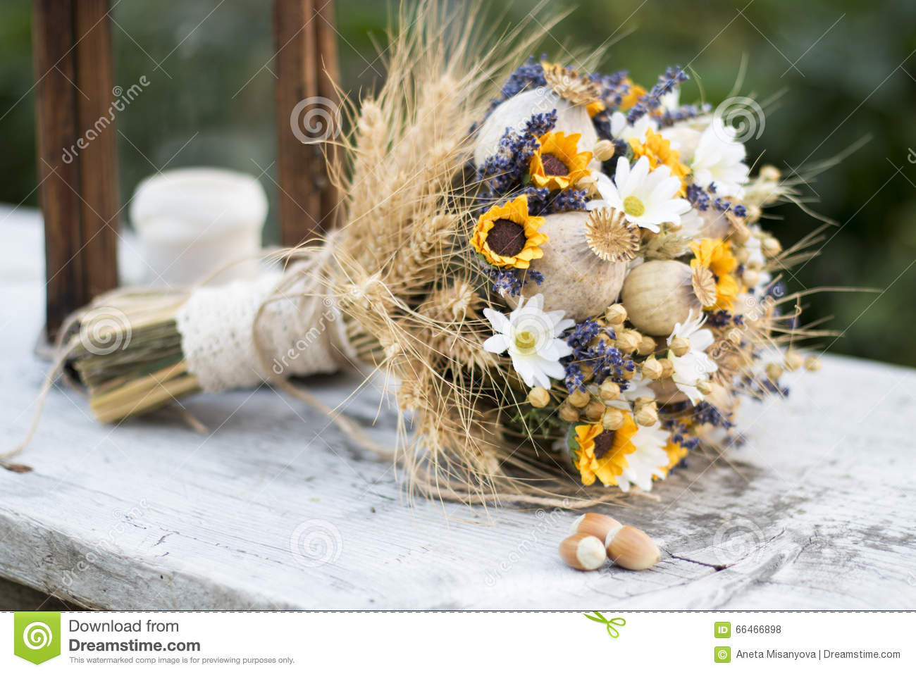 Wedding bouquet of dry flowers stock photo image of beautiful wedding bouquet of dry flowers beautiful cutting izmirmasajfo Images