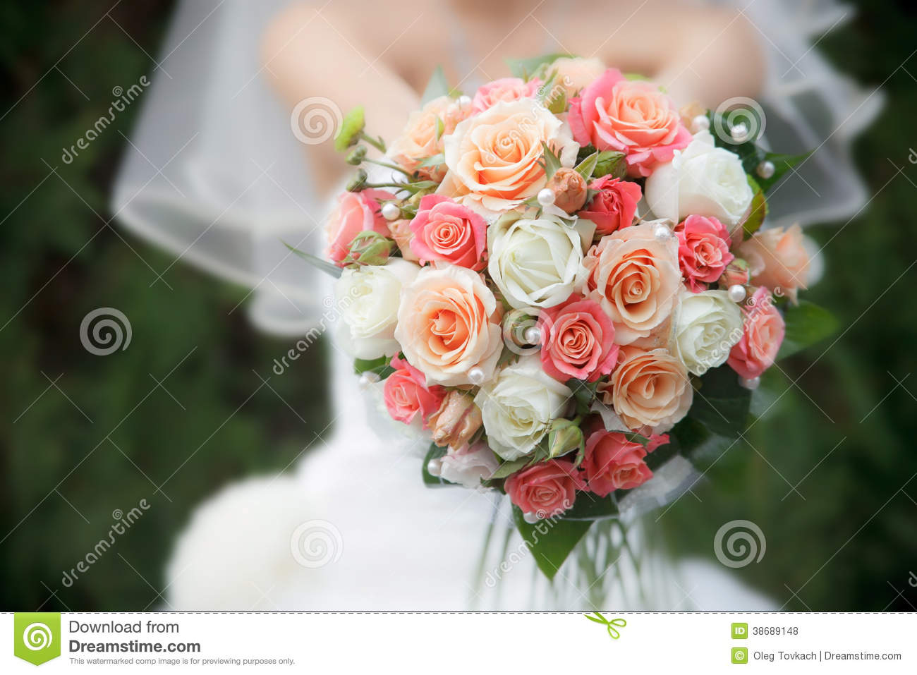 Wedding bouquet from fresh flowers stock photo image of love wedding bouquet from fresh flowers izmirmasajfo