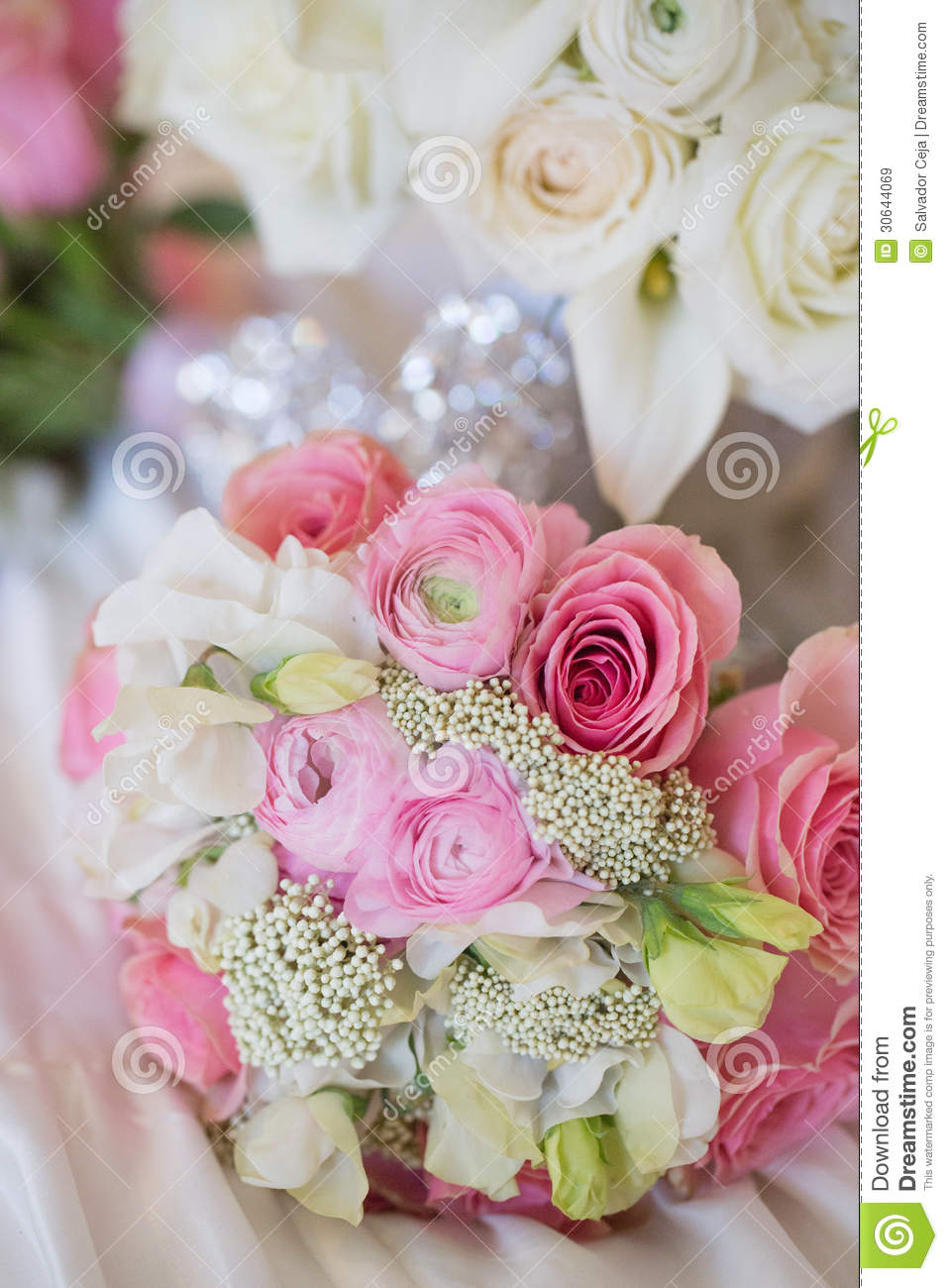 Wedding bouquet stock image. Image of marriage, pink - 30644069