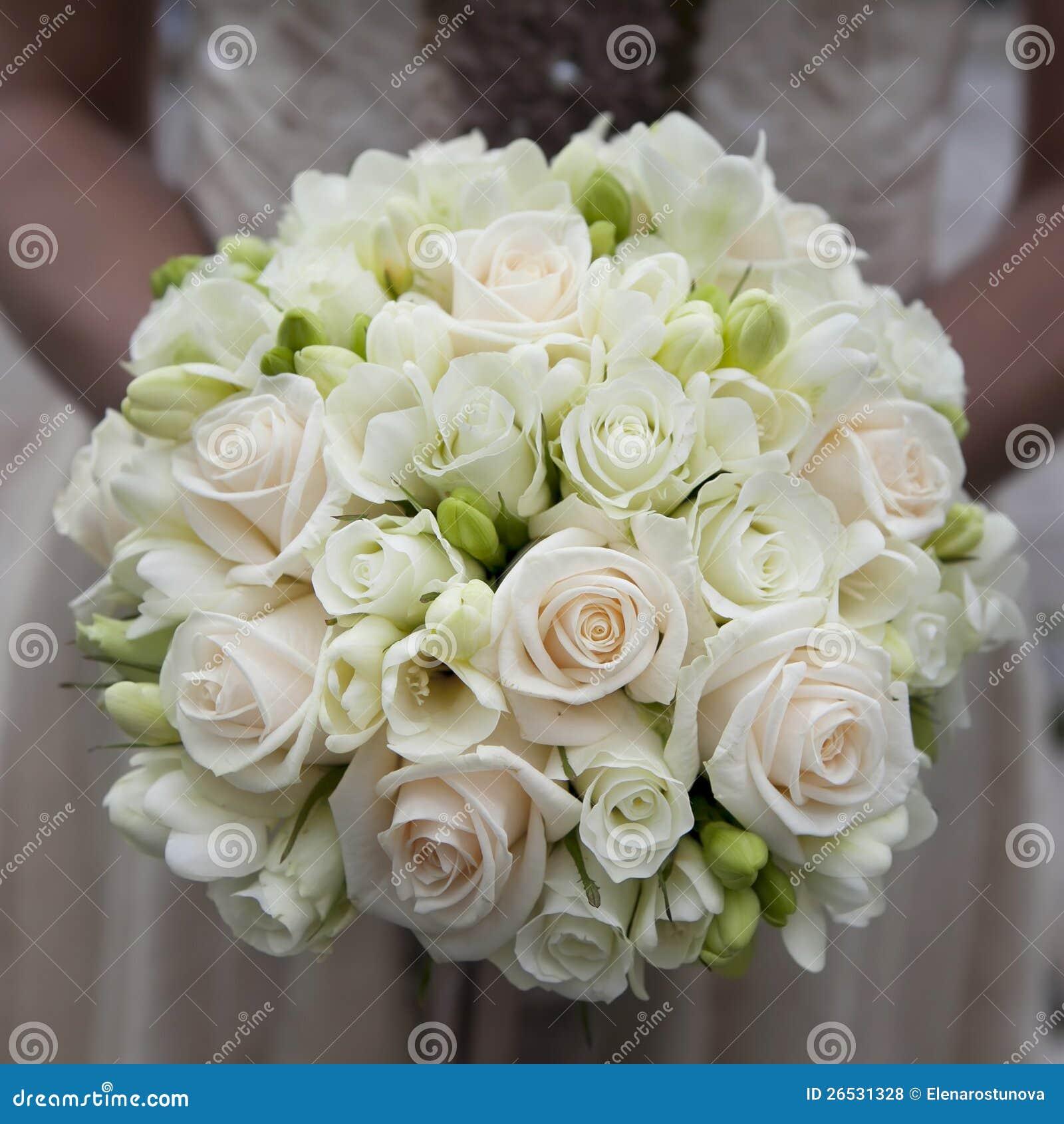 Wedding Flowers White Roses