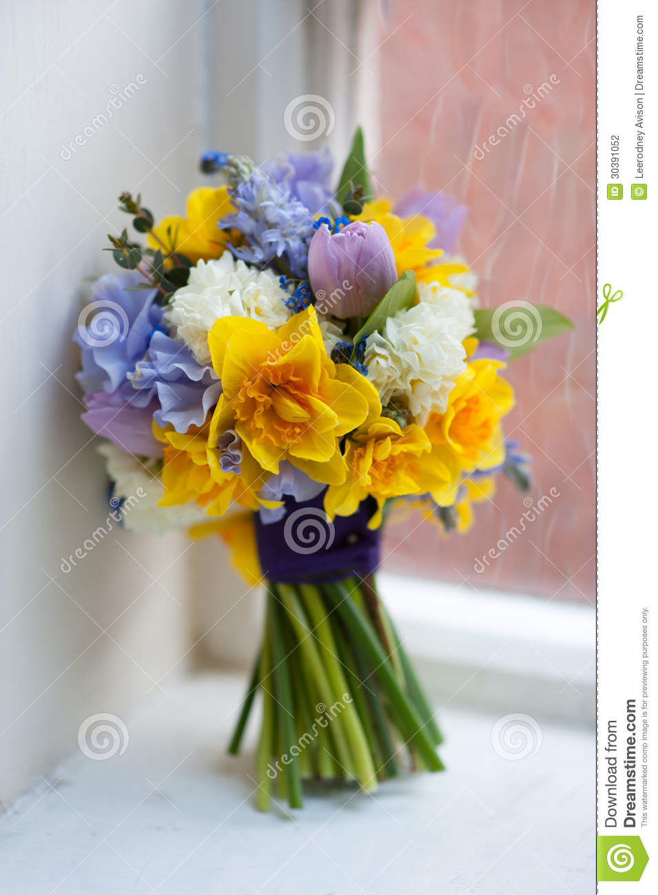 Wedding bouquet of spring flowers stock photo image of wedding wedding bouquet of spring flowers junglespirit Image collections