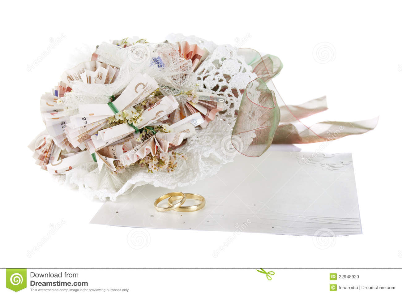 Wedding Bouquet For Valentine 39 S Day Stock Photo Image 22948920