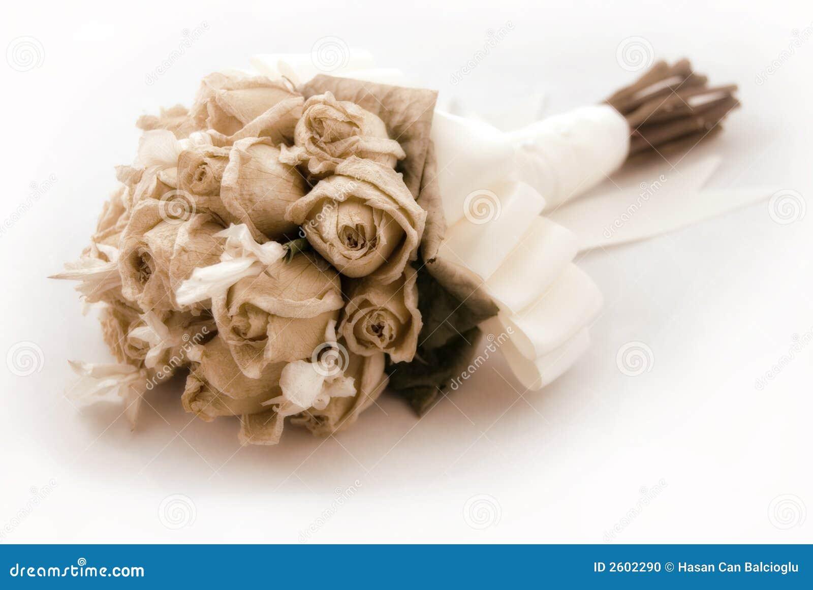 Wedding Bouquet (vintage / Nos Stock Photo - Image of antique, happy ...