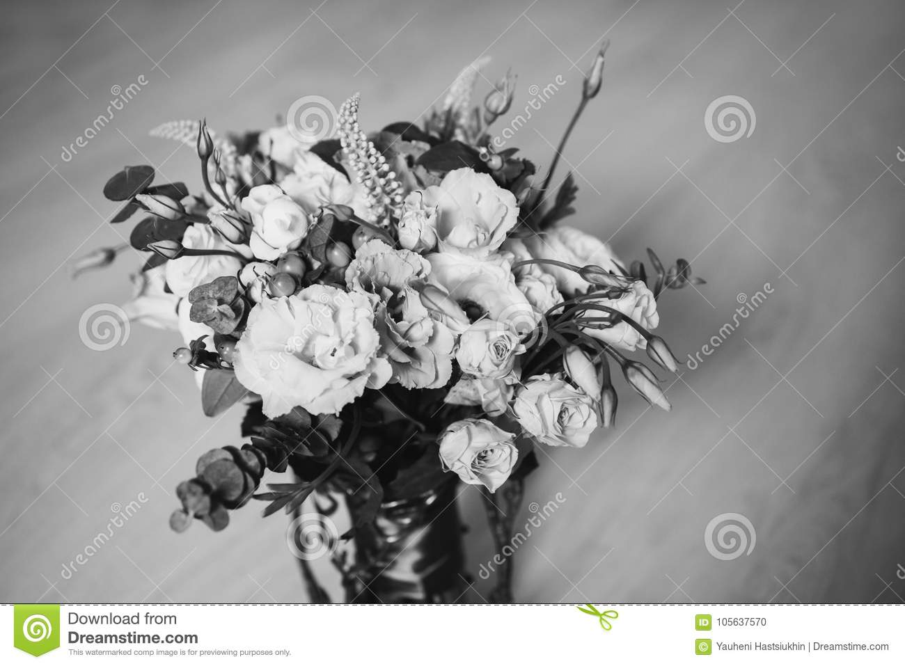 Art Black And White Photography Wedding Decorations Stock