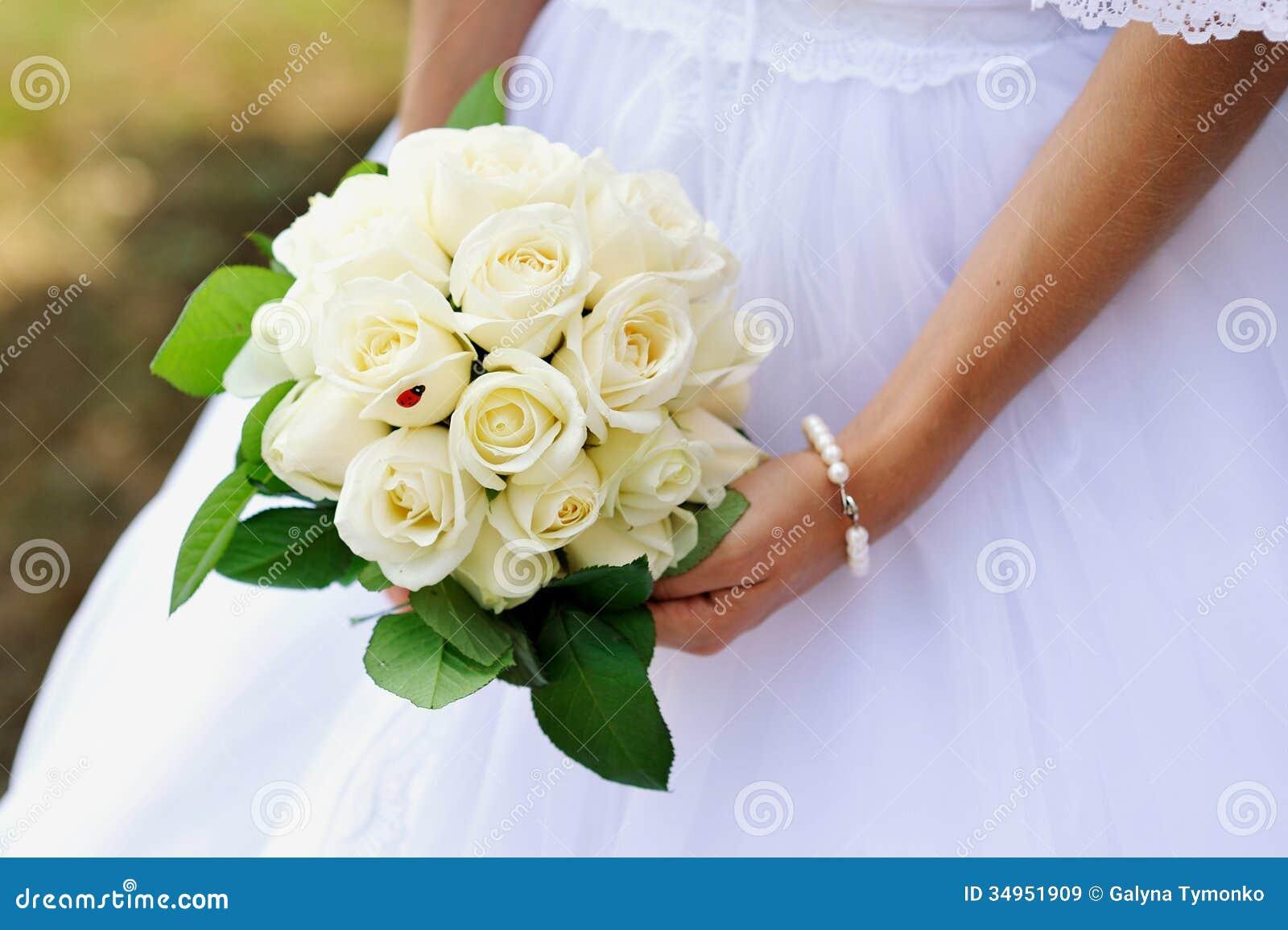 Wedding bouquet stock image. Image of love, elegance ...