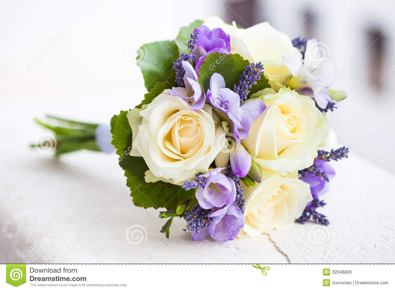 Wedding Bouquet With Yellow Roses Stock Photo Image Of Angela