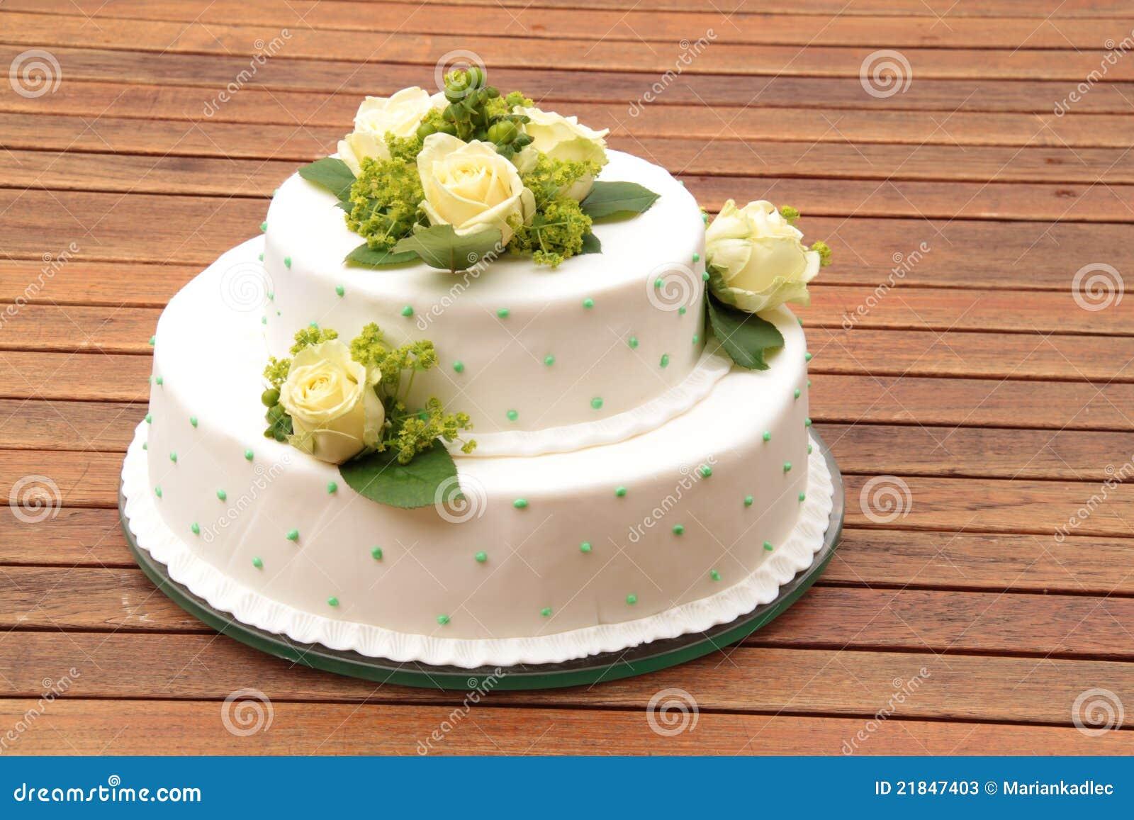Marzipan A Fruit Wedding Cake