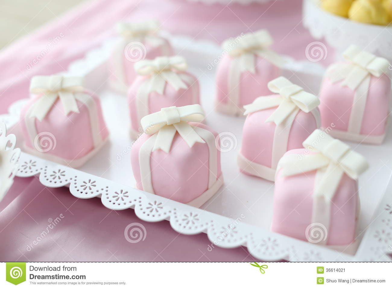 Wedding cake stock image. Image of cupcakes, dessert - 36614021