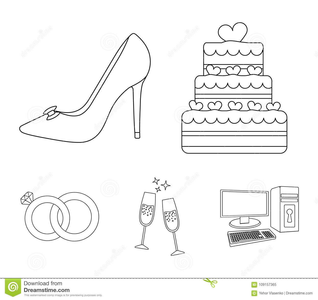 Thumbs Dreamstime Com Z Wedding Cake Bride S Shoes