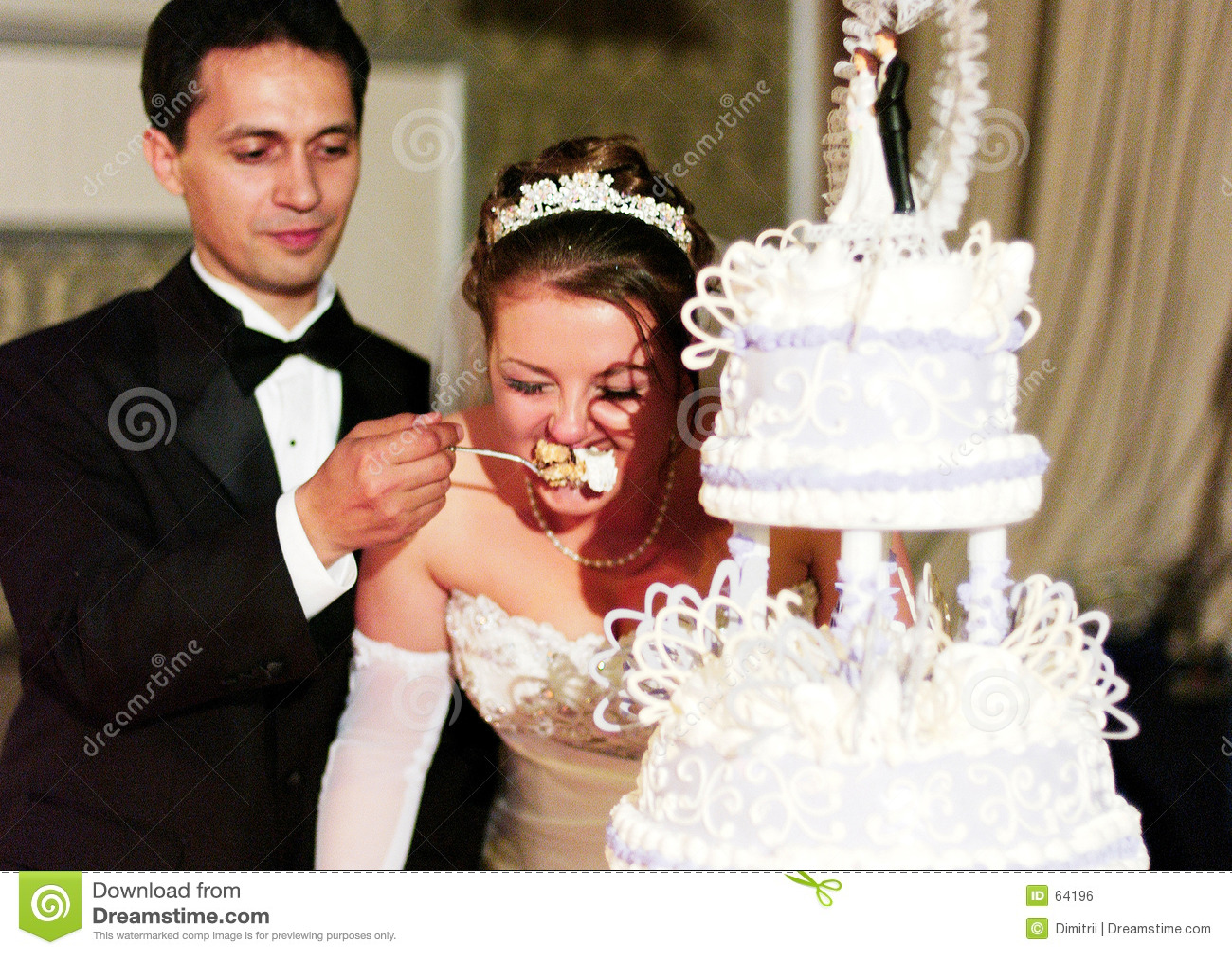 Wedding Cake Ceremony Royalty Free Stock Image Image 64196