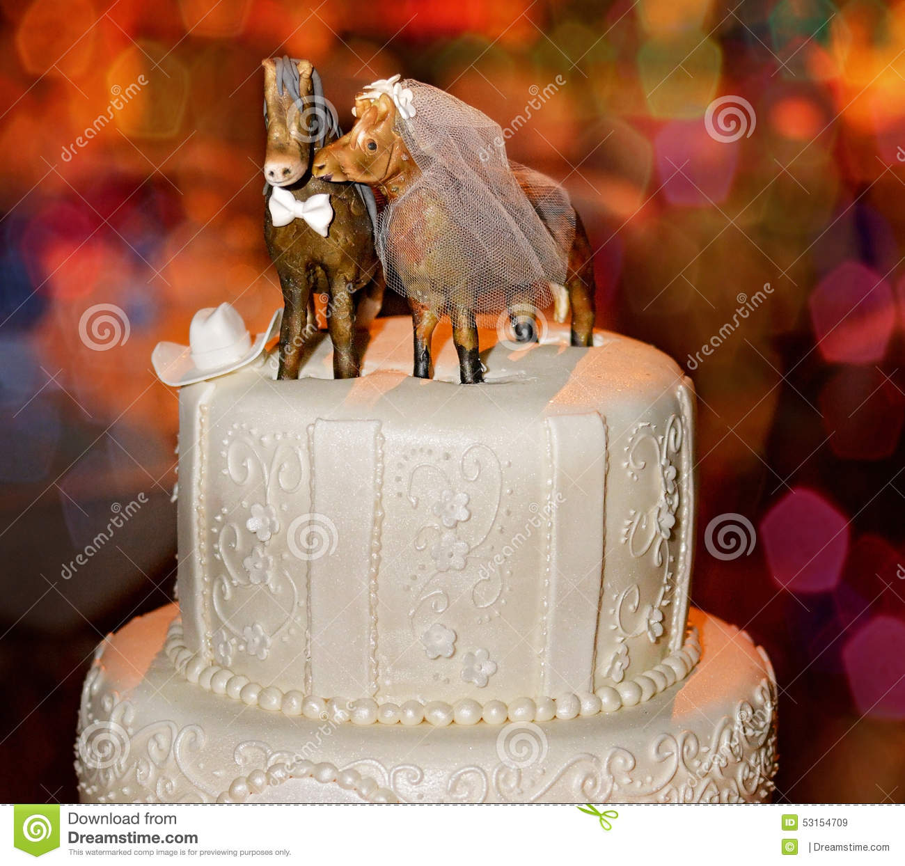 Wedding Cake Stock Photo - Image: 53154709