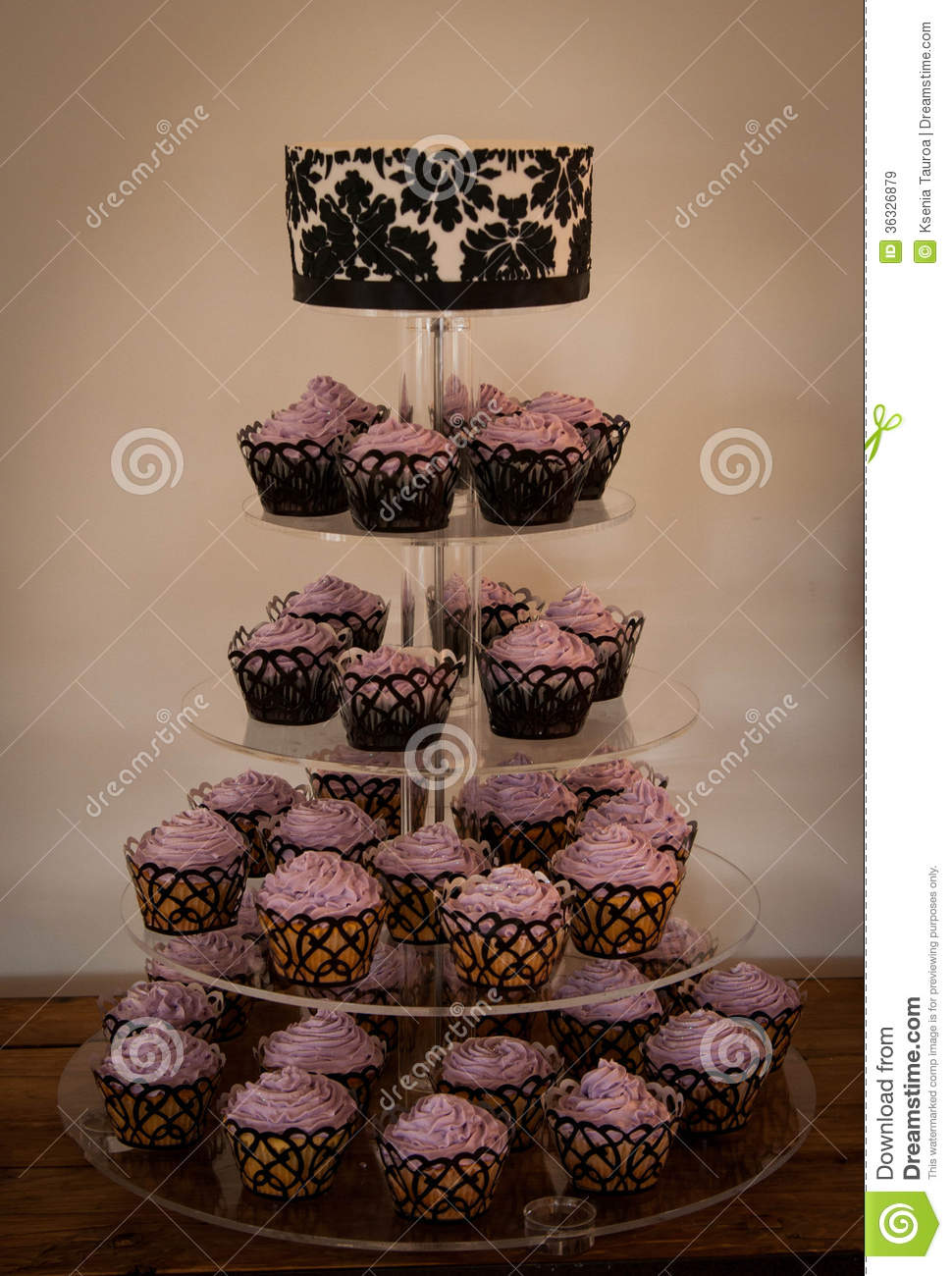 Wedding Cake Stock Image Image Of Topper Food Sugar