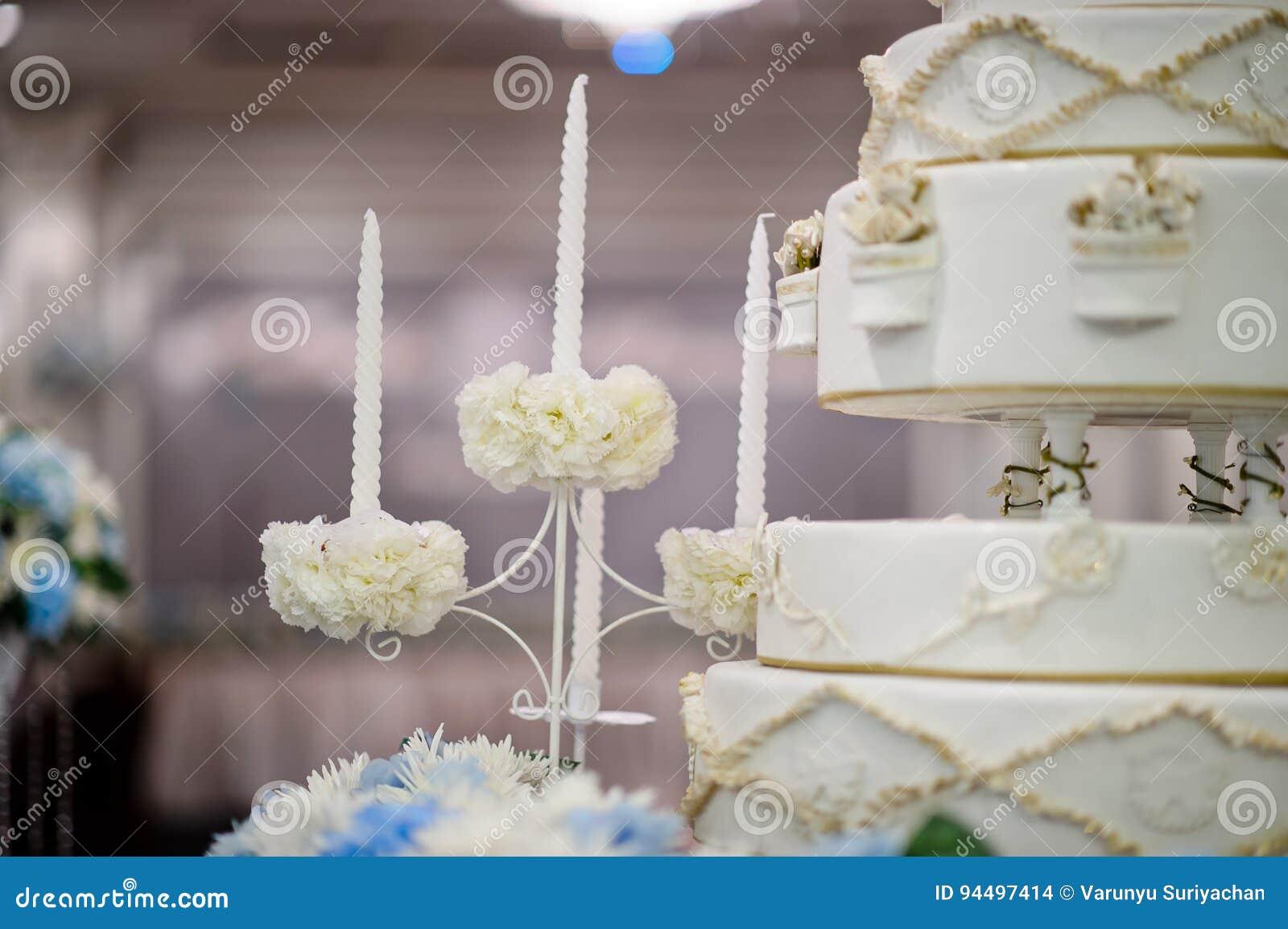 Wedding Cake Stock Photo Image Of Flower Bouquet Event 94497414