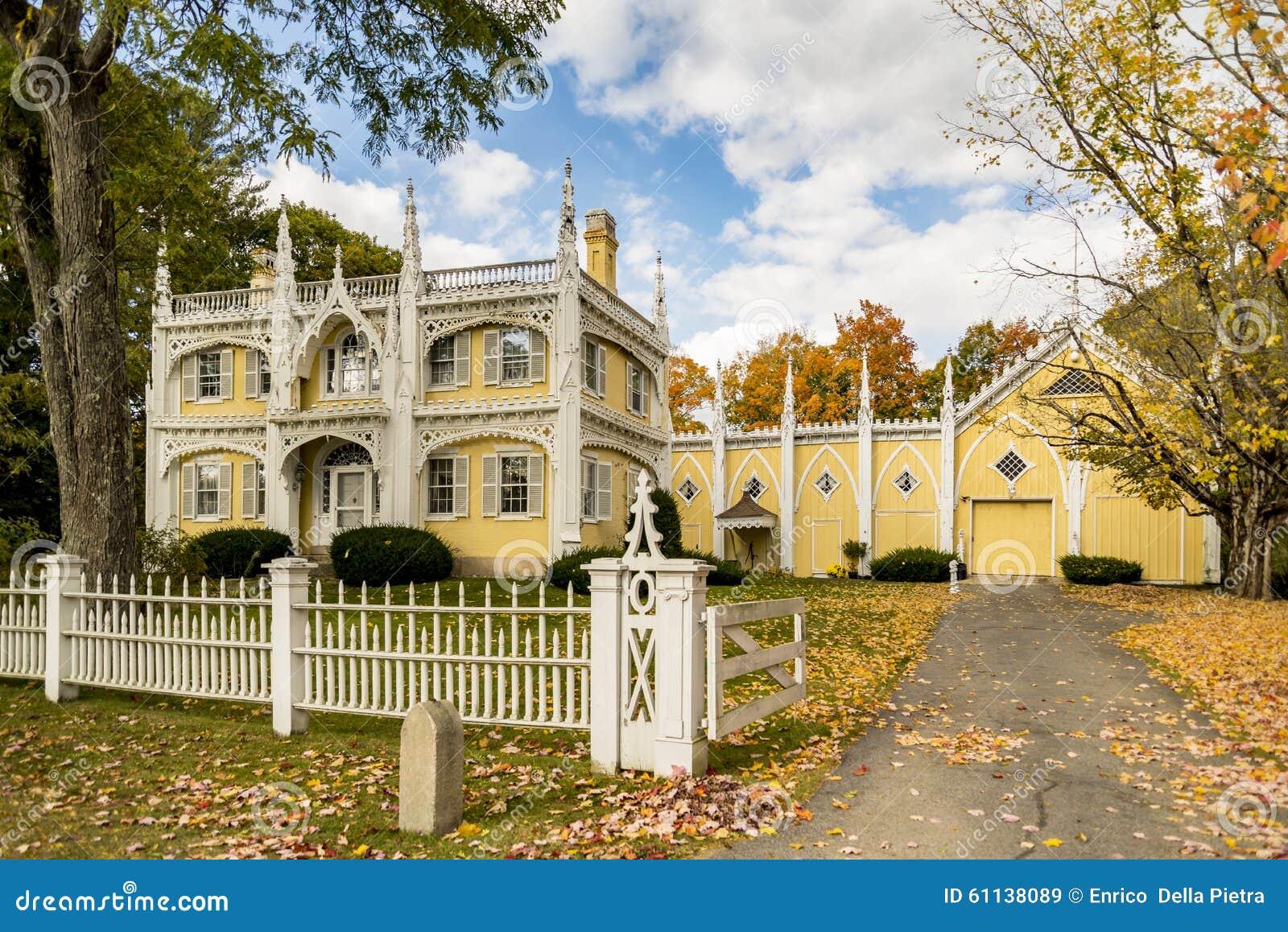 Wedding Cake House Stock Image Image Of Tree Villa 61138089