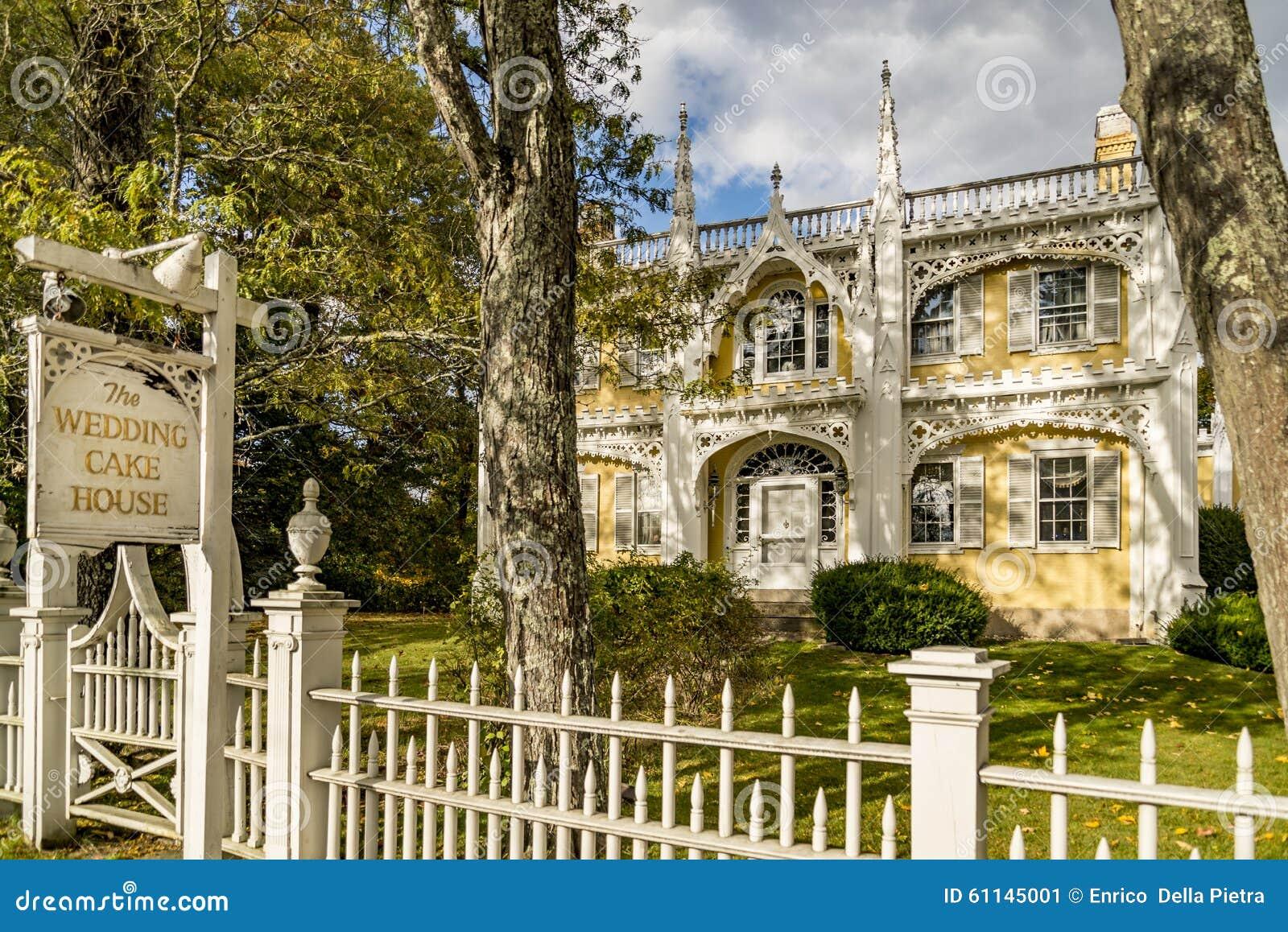 Wedding Cake House Stock Image Image Of Building Fence 61145001