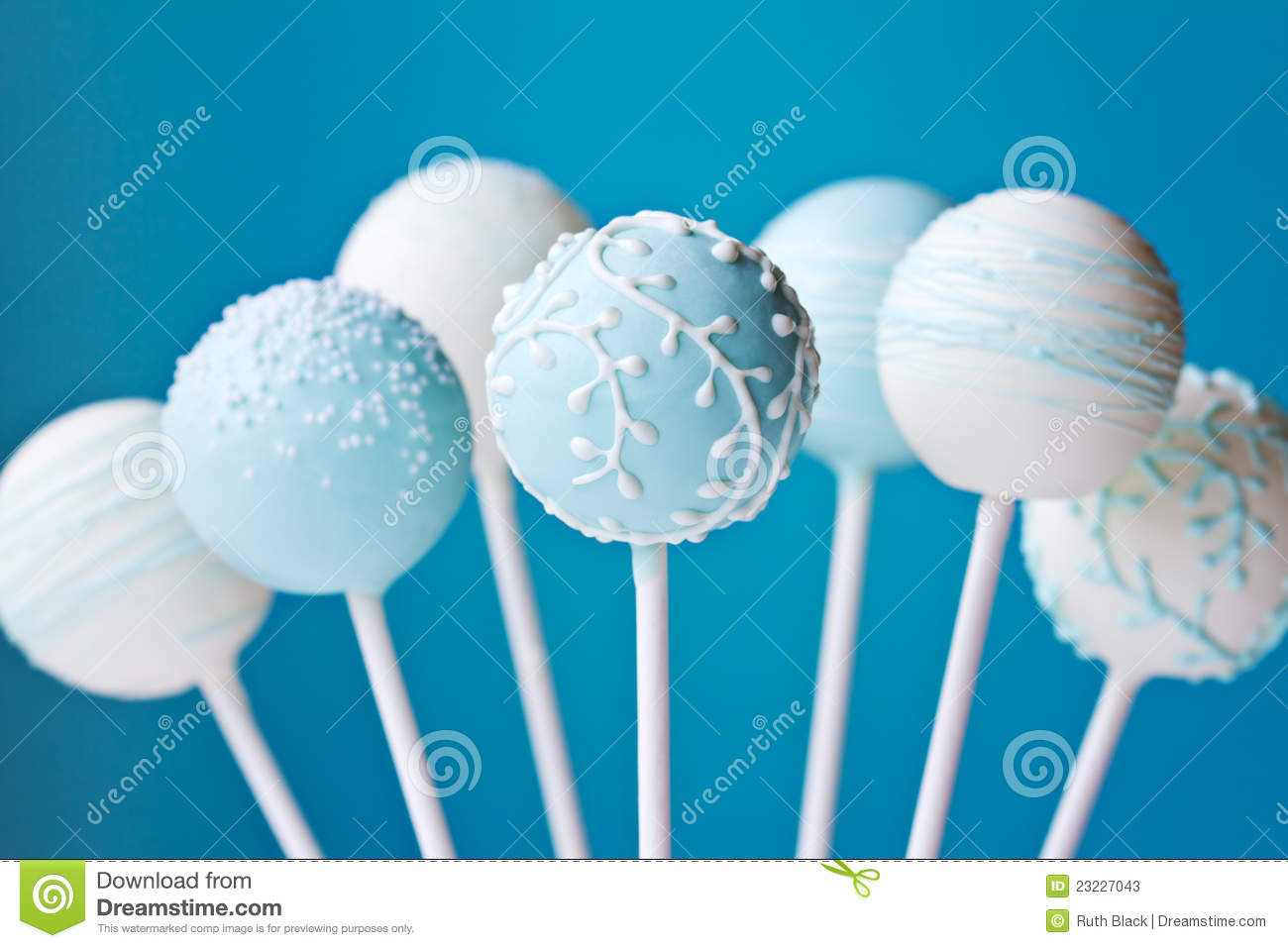 Cake Pop Birthday Party Favors