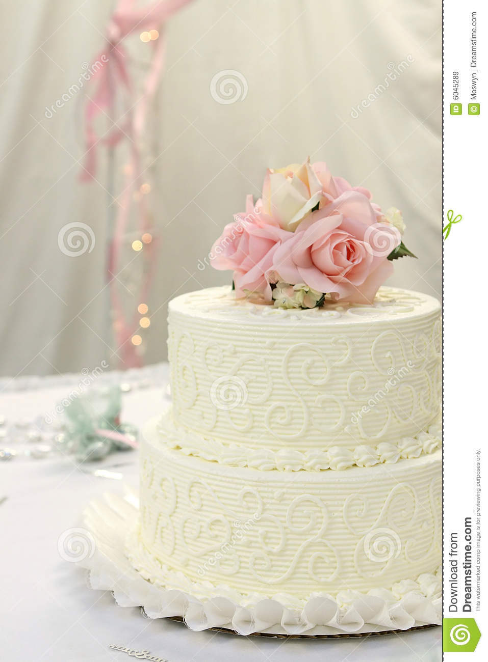 pink rose wedding cake wedding cake with roses royalty free stock images image 18587