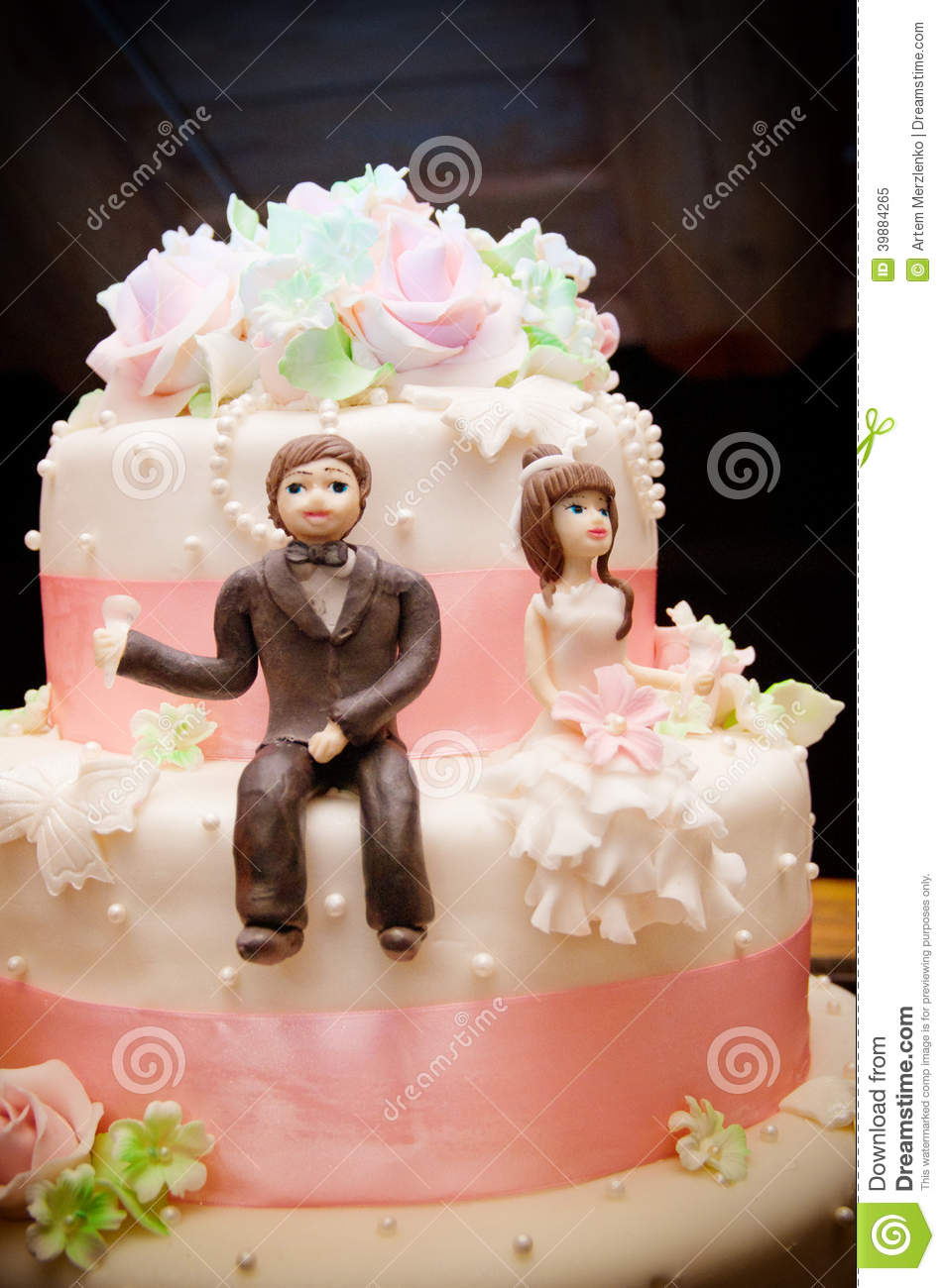 cartoon wedding cake toppers wedding cake topper vector cartoondealer 12421