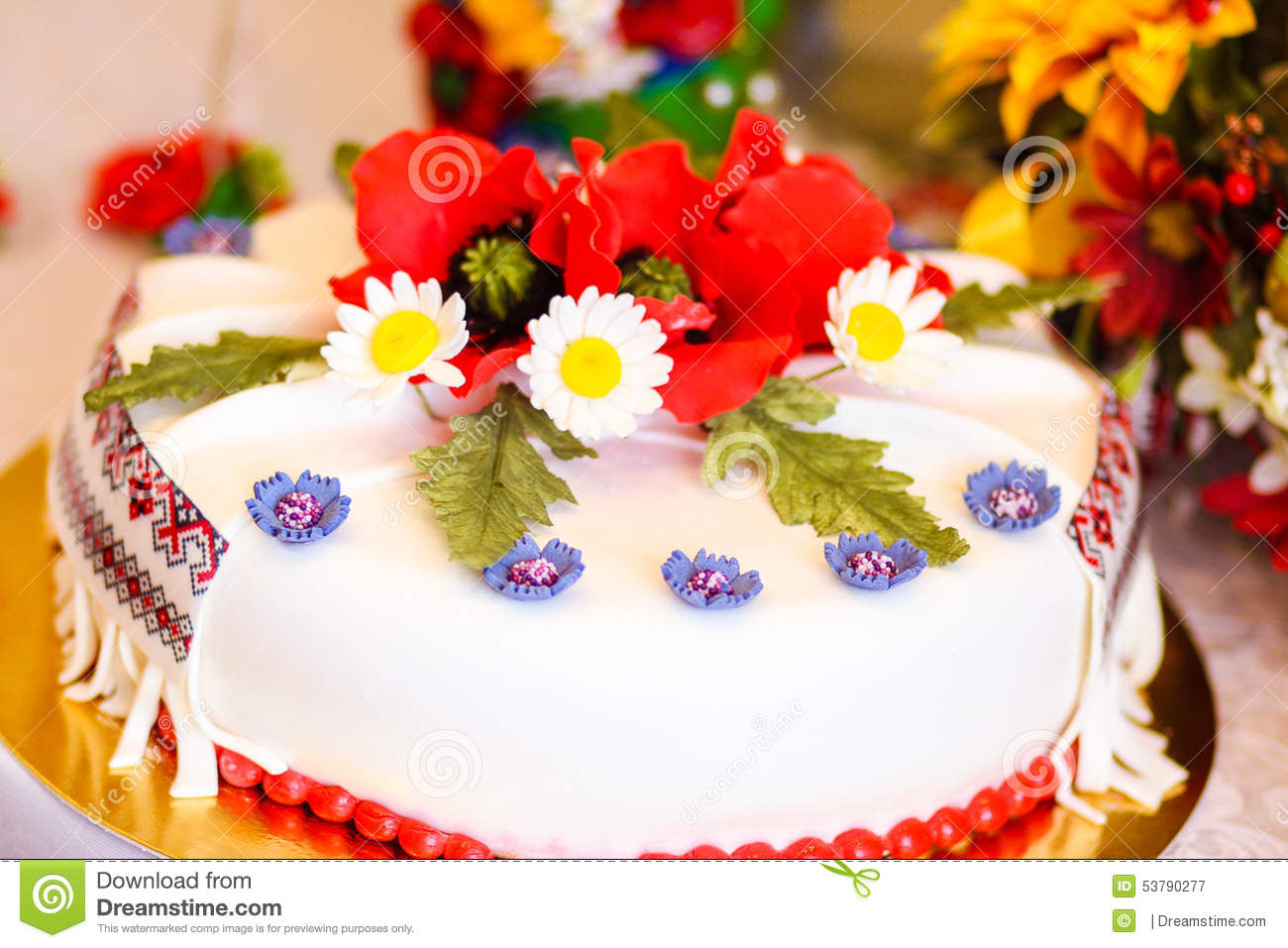 Ukrainian Birthday Cake