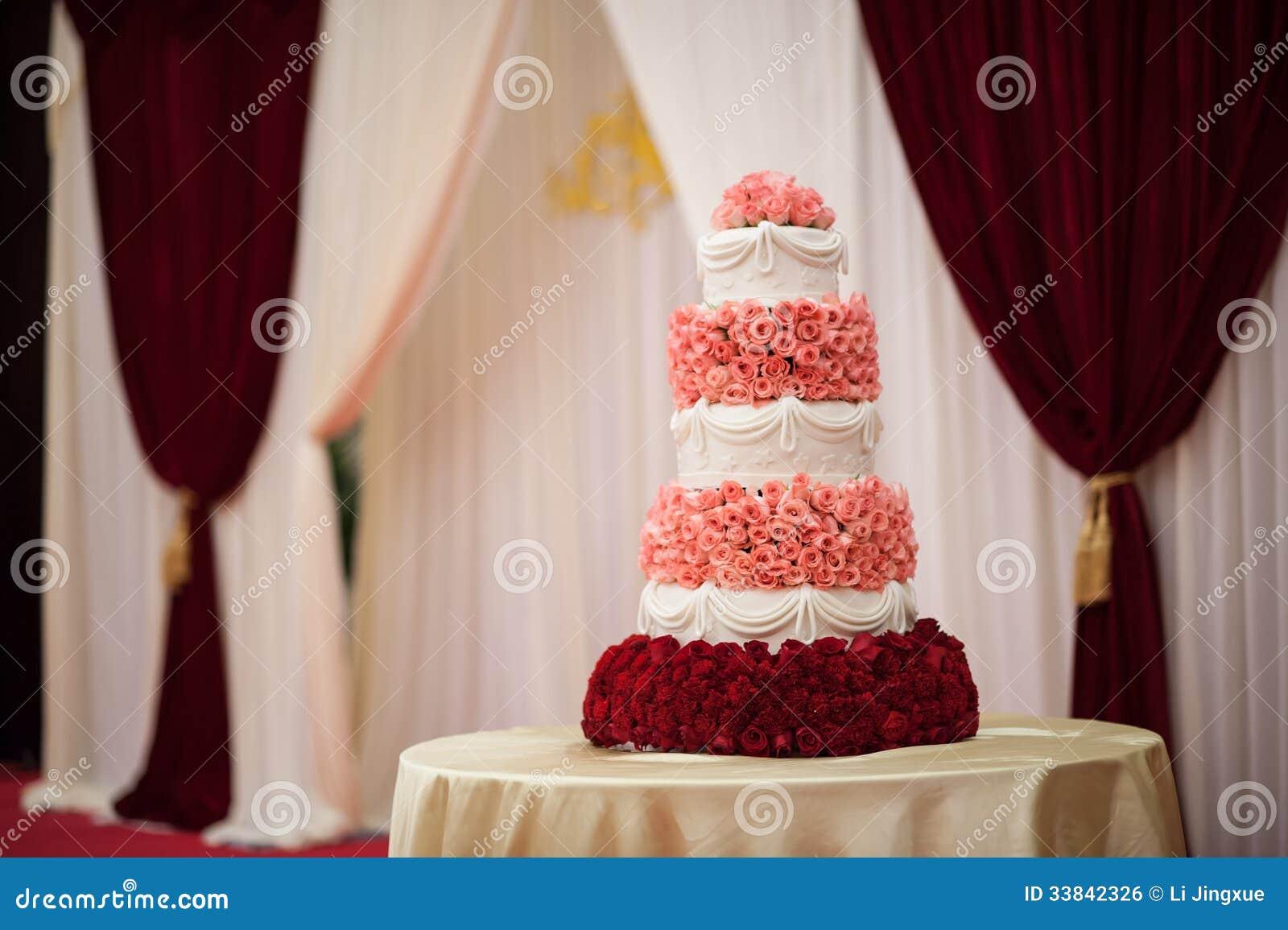 Wedding Cake Stock Photo Image Of Break Dessert Couple