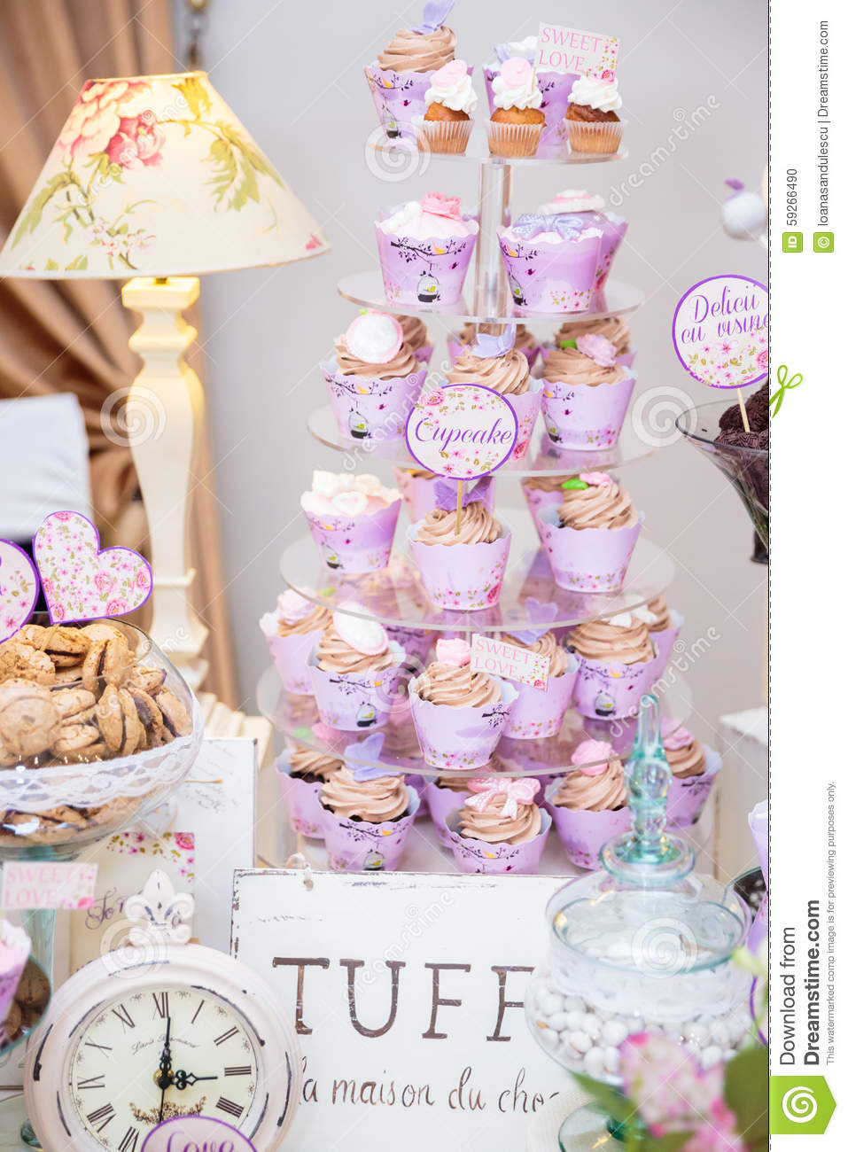 stock photo wedding candy bar biscuits fruits macarons cupcakes image wedding candy bar Wedding Candy bar
