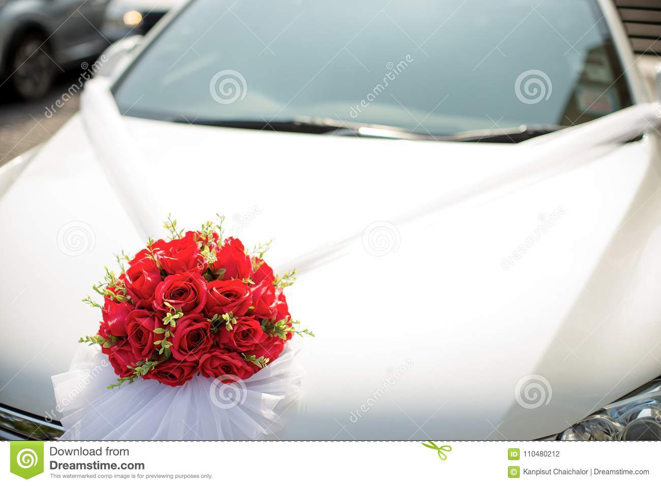 Wedding Car Wedding Decoration On Wedding Car Luxury Wedding Car