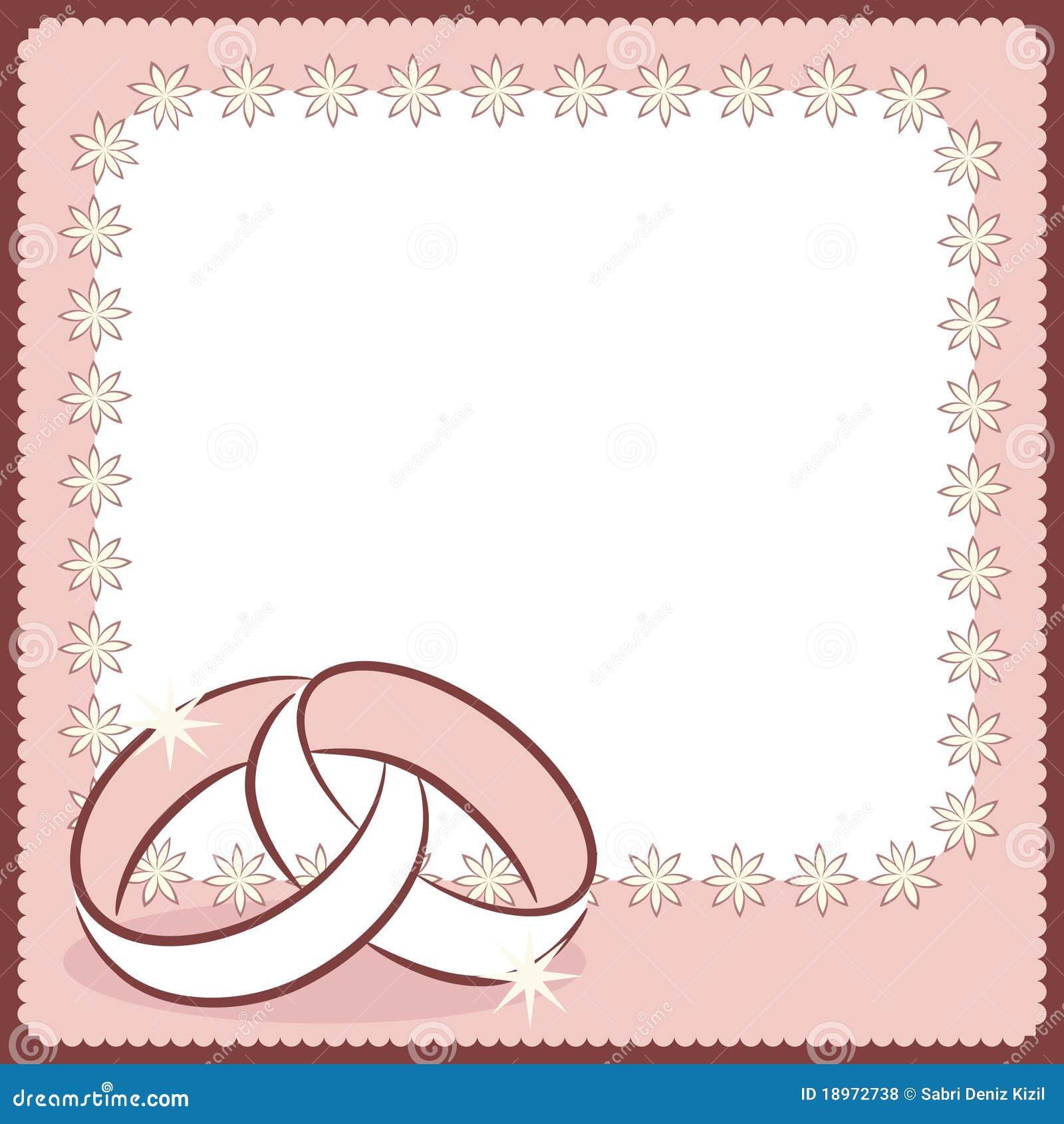 Wedding Card Royalty Free Stock Photos - Image: 18972738