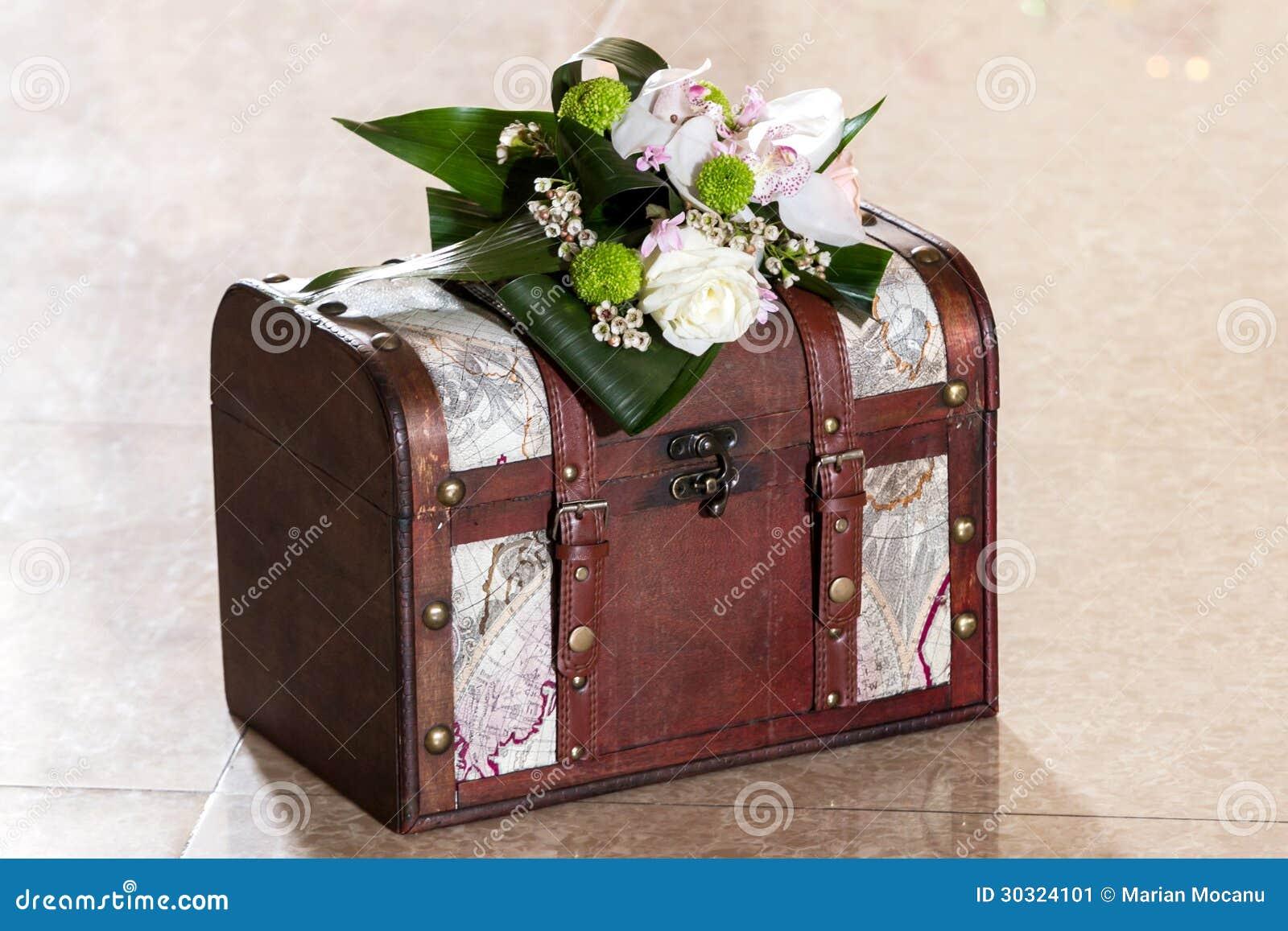 Wedding Card Box Stock Image Image Of Greeting Beautiful