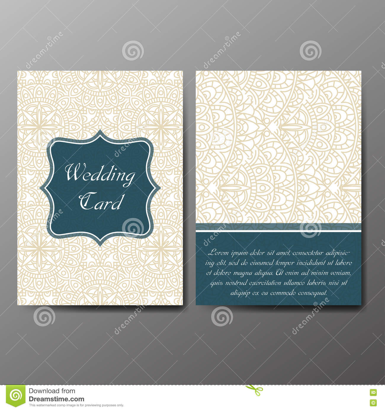 Wedding Card Collection Template Of Invitation Card Decorative