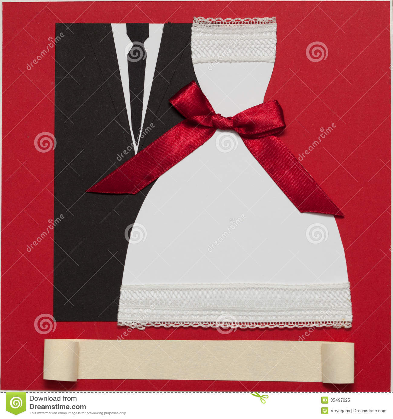 Wedding Card, Elegant Style Stock Image - Image of groom, invitation ...