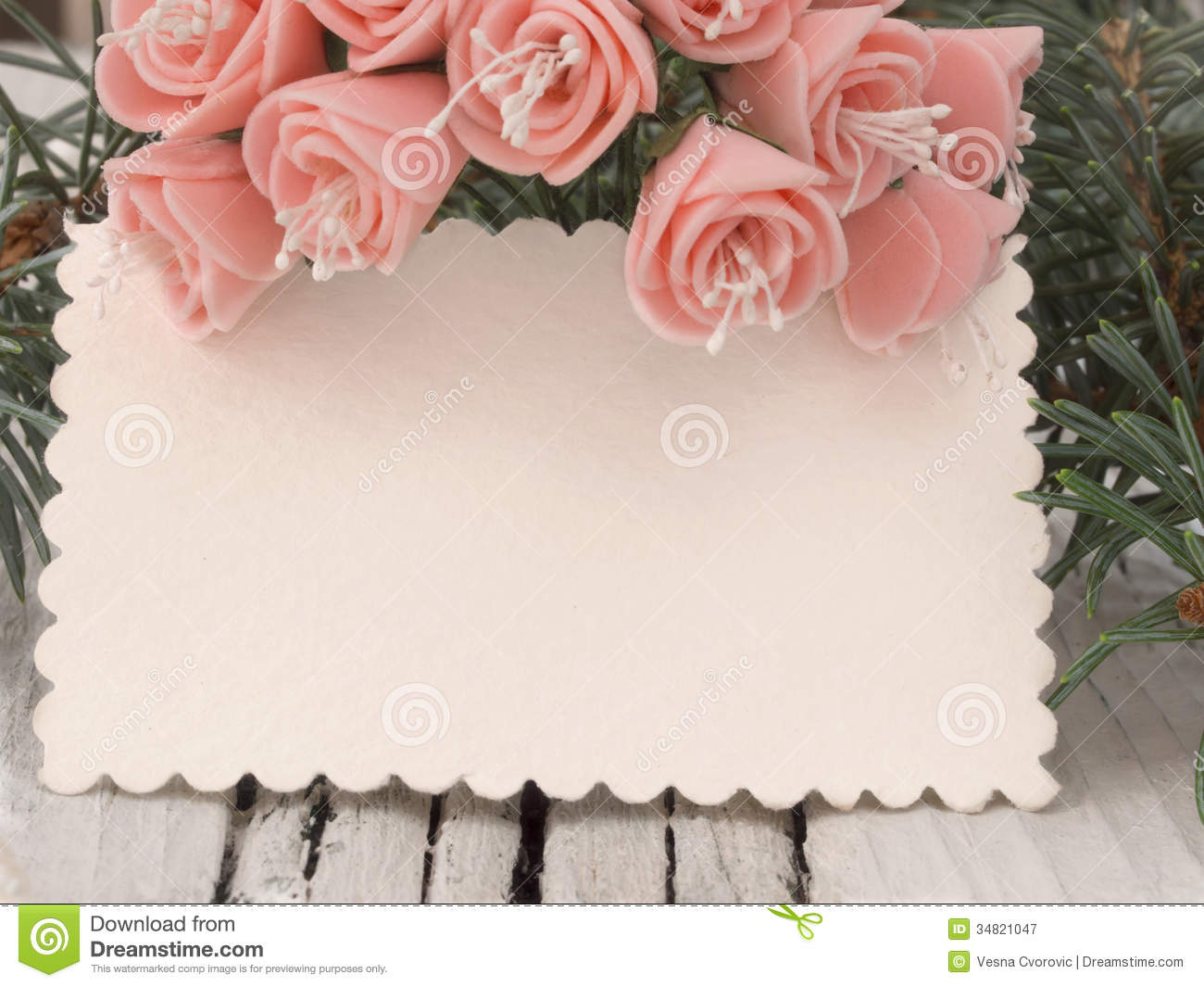Wedding card stock image Image of decor decoration 34821047