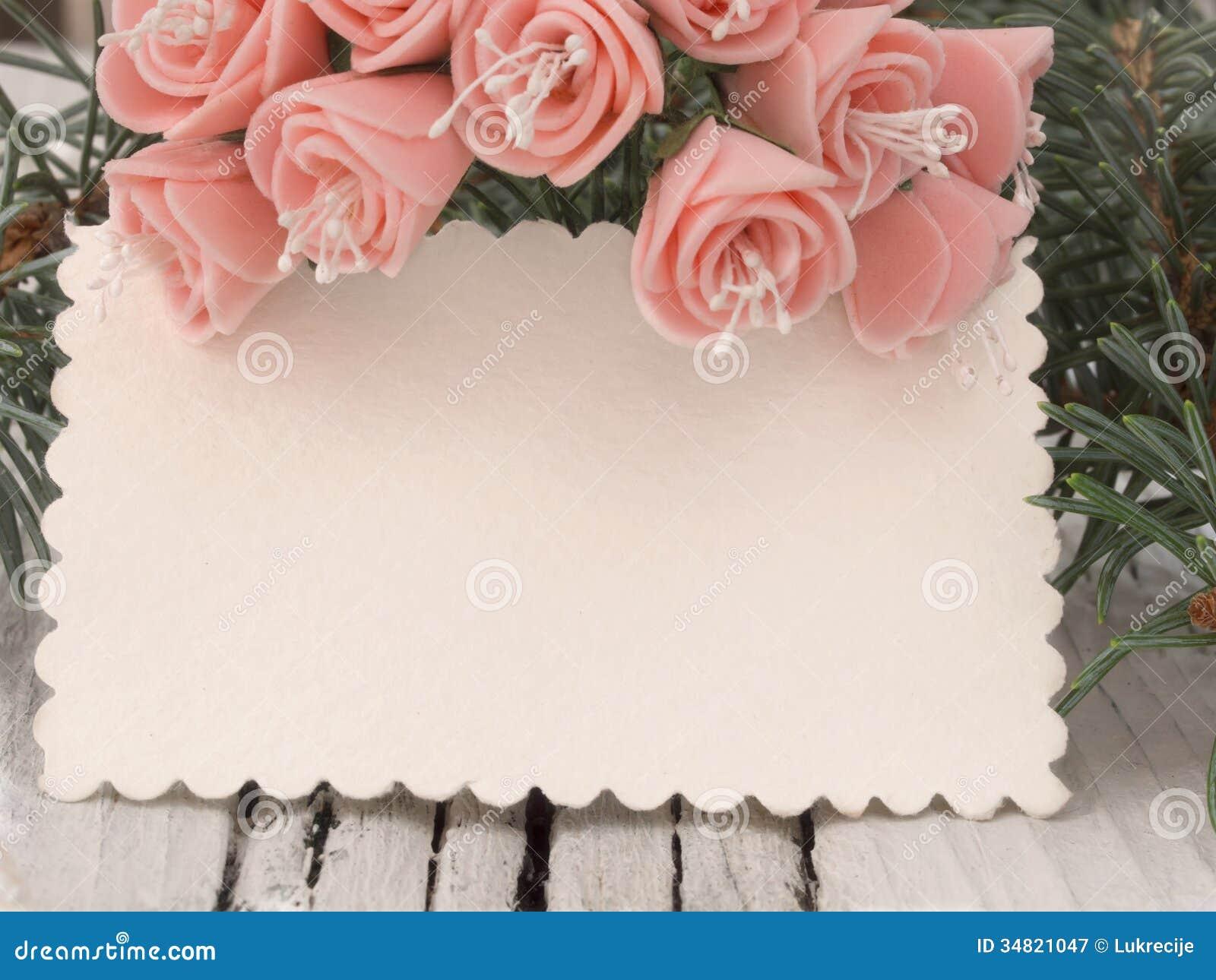 Wedding Card Royalty Free Stock Photography - Image: 34821047
