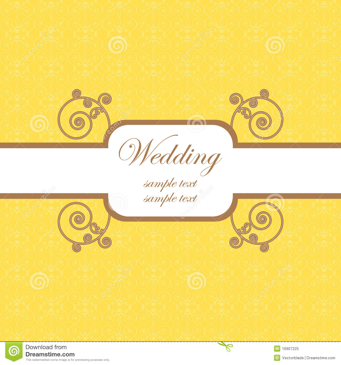 Wedding Card Template 2 Royalty Free Photo Image 16907225 – Wedding Card Template