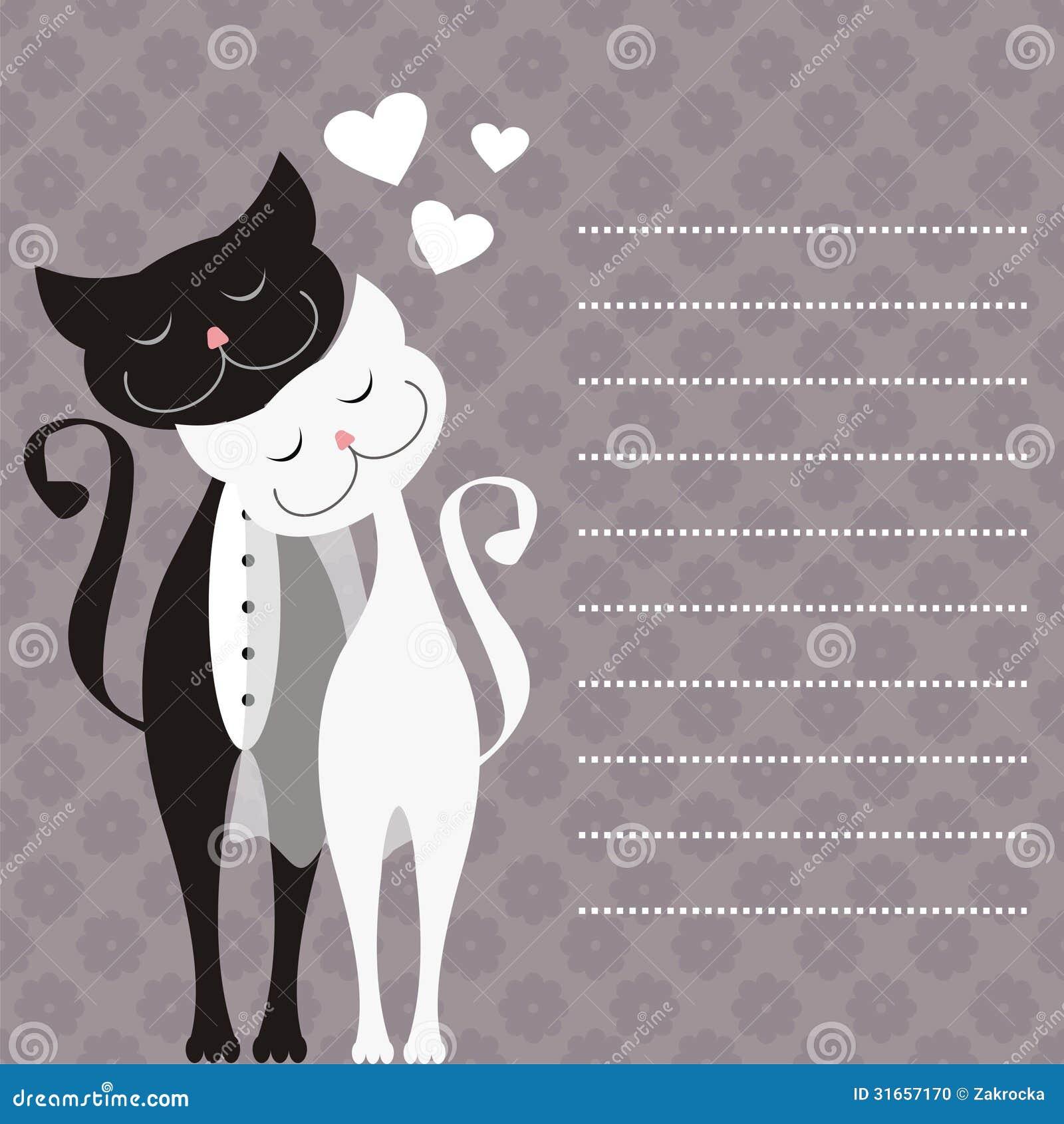 Wedding card stock vector illustration of love painting 31657170 wedding card junglespirit Images