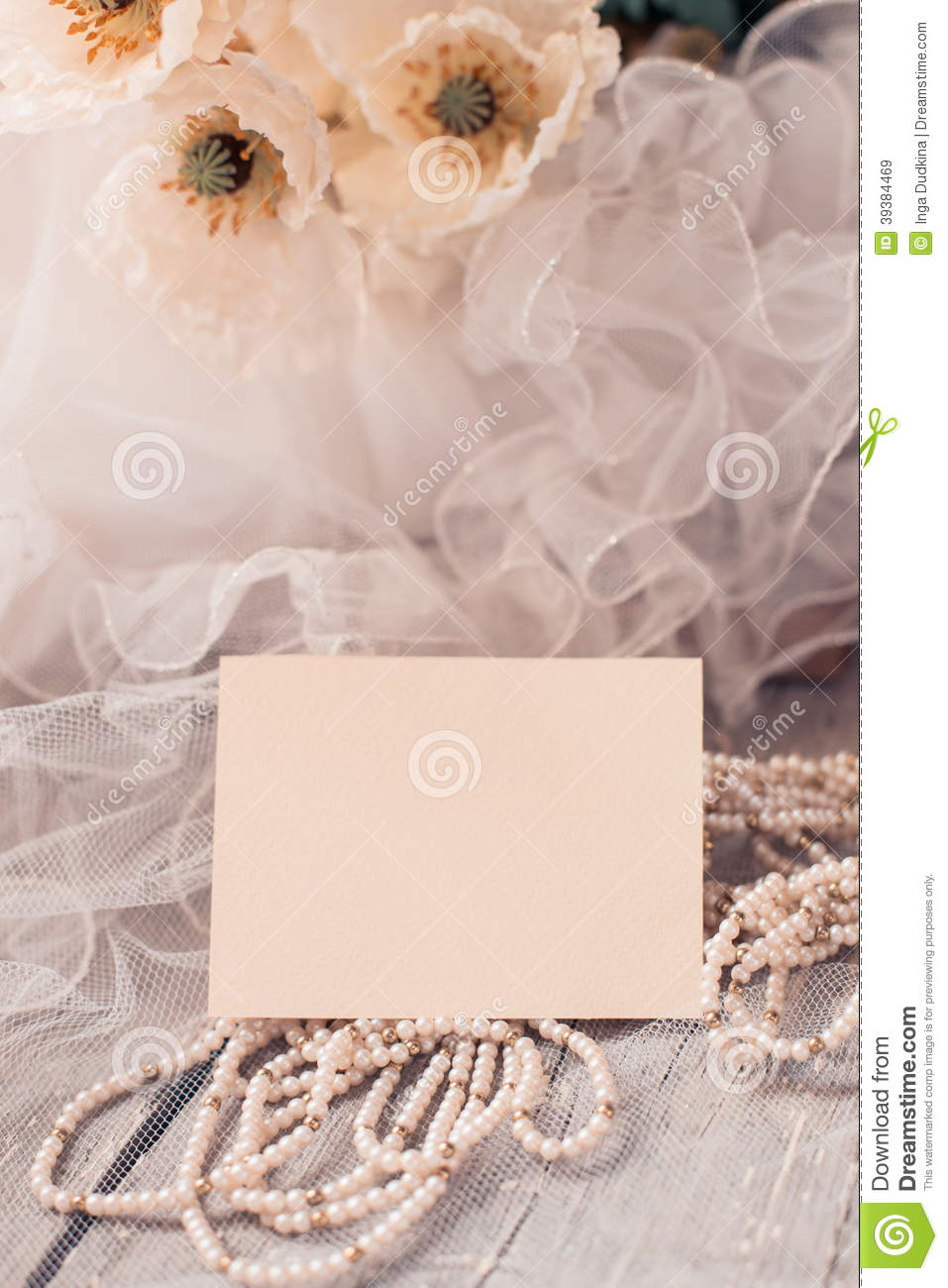 Wedding card stock image image of celebration decor for Aana decoration wedding accessories