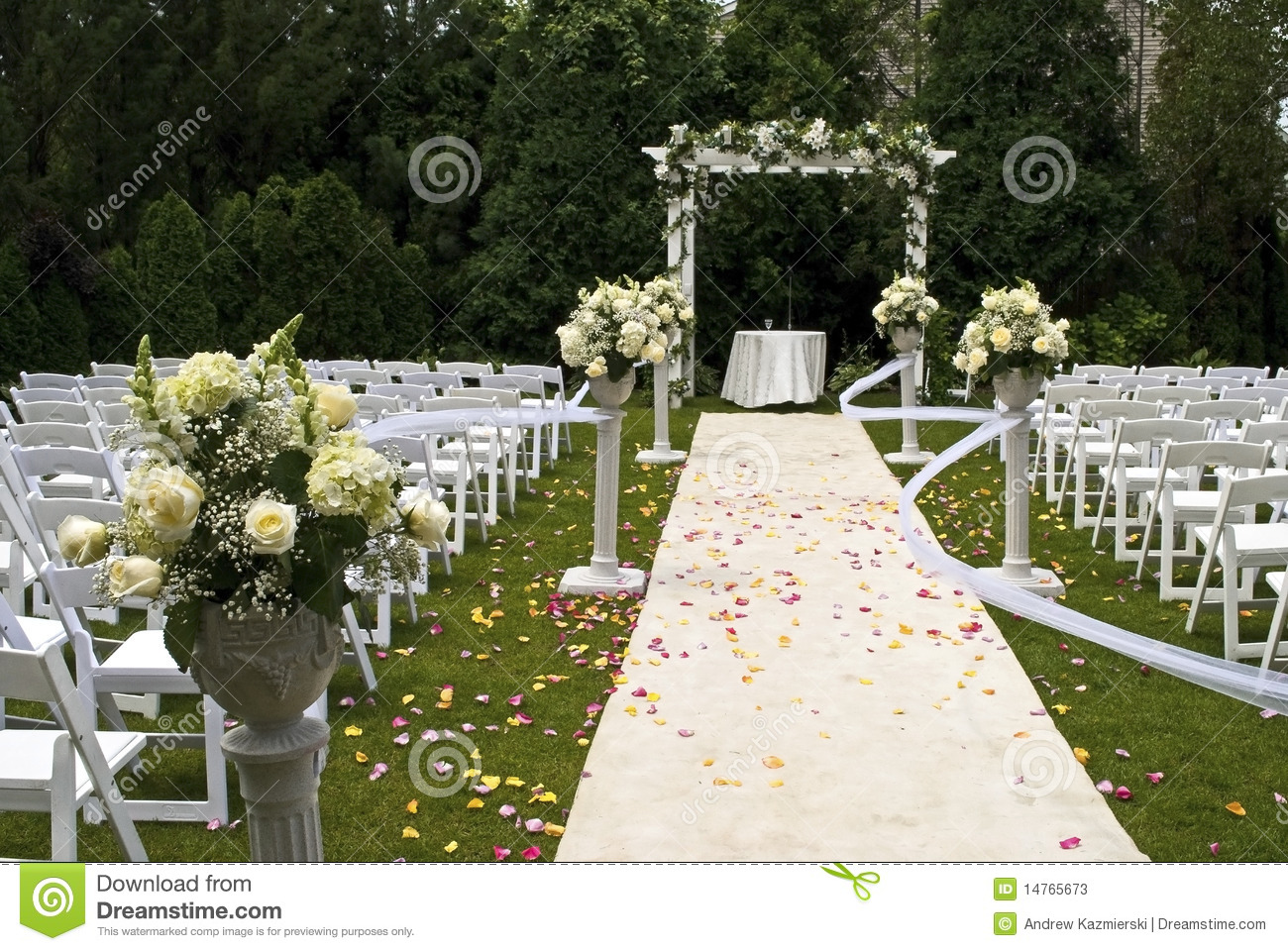 Wedding Carpet Stock Photos Image 14765673