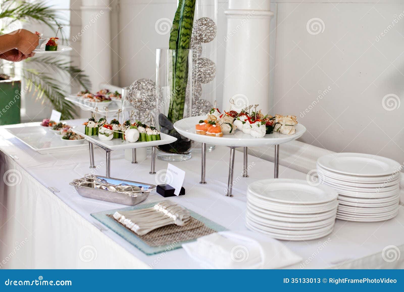 Wedding Catering Stock Photos Image 35133013