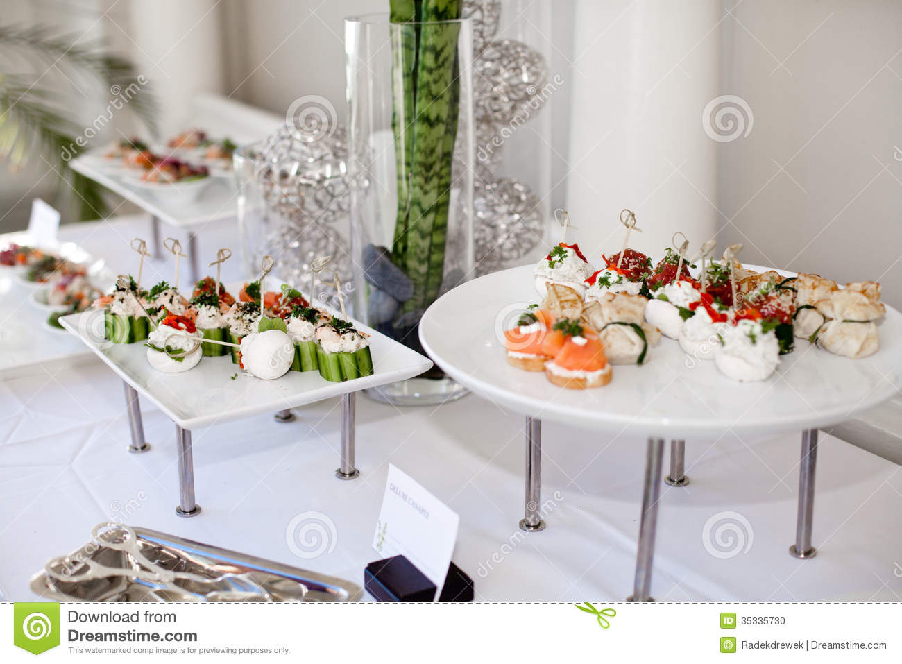 Wedding Catering Stock Photo - Image: 35335730