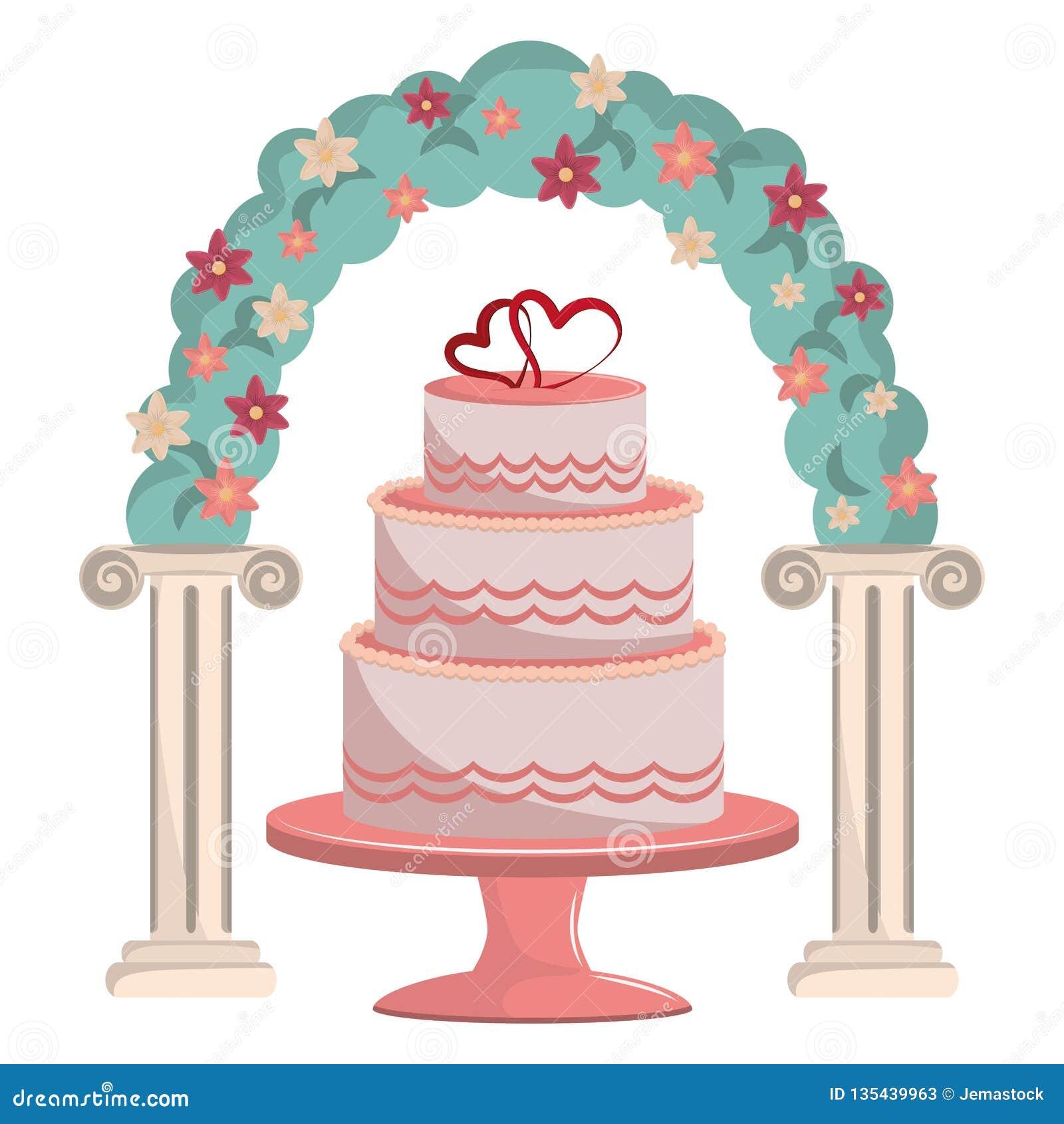 Wedding Celebration Cartoons Stock Vector Illustration Of Drawing