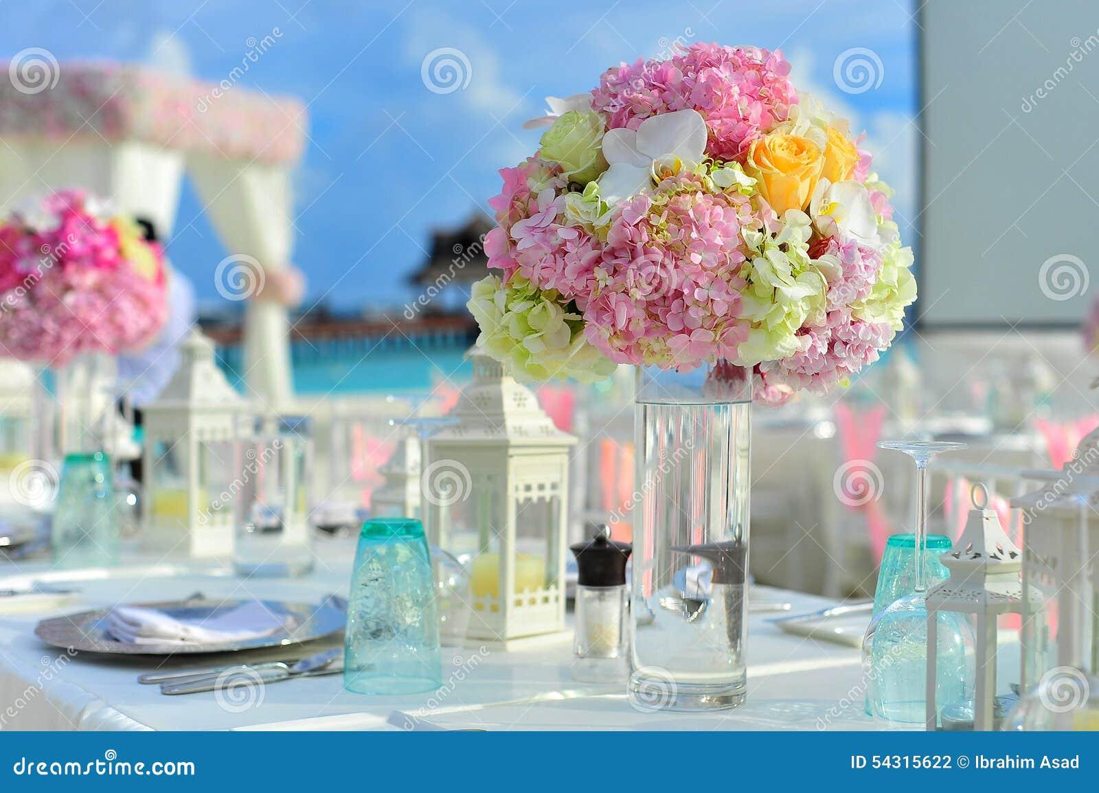 stock photo wedding centerpiece flowers candle flower holder image wedding centerpiece Wedding centerpiece flowers