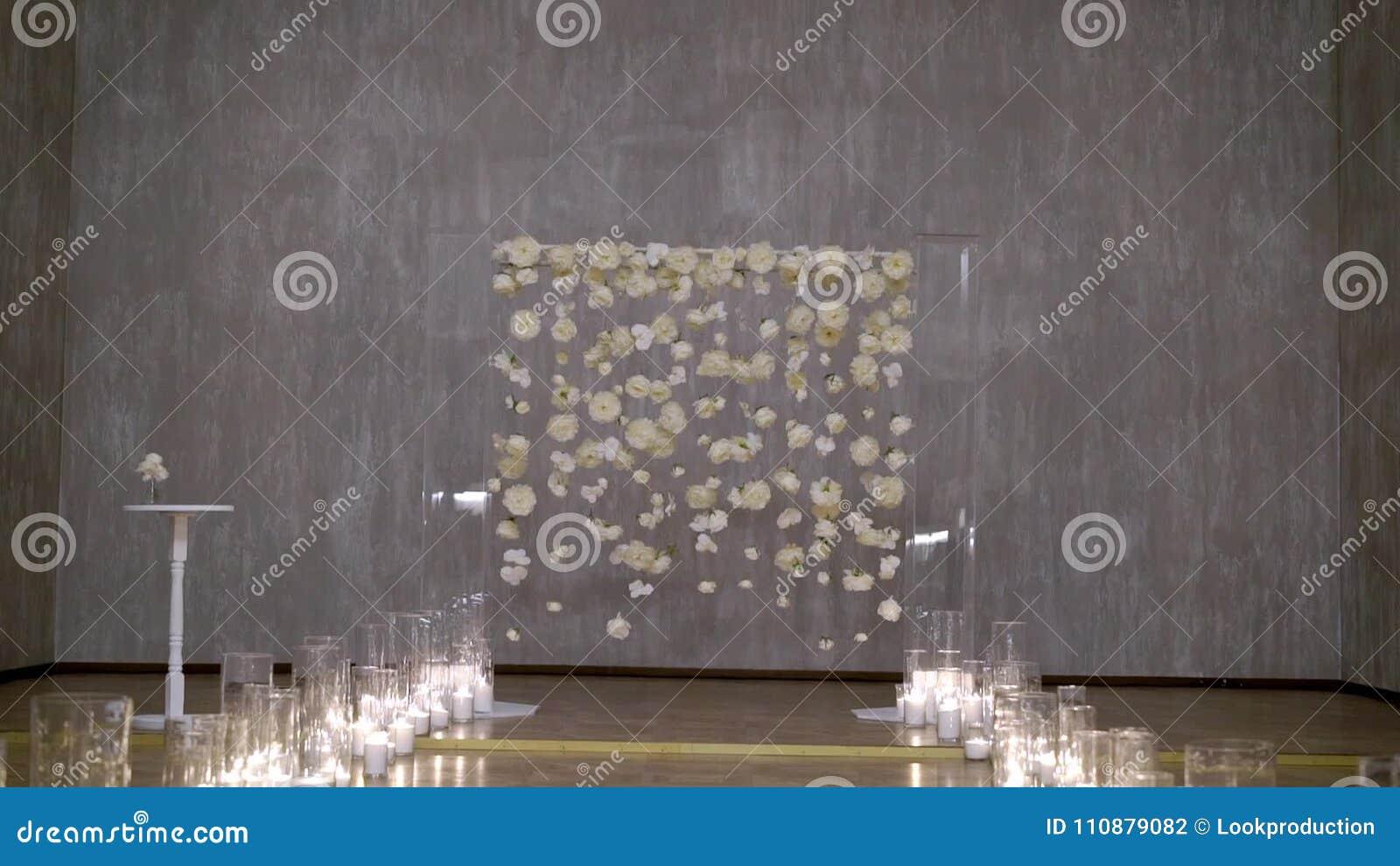 Wedding ceremony decoration stock footage video of composition wedding ceremony decoration stock footage video of composition candle 110879082 junglespirit Images