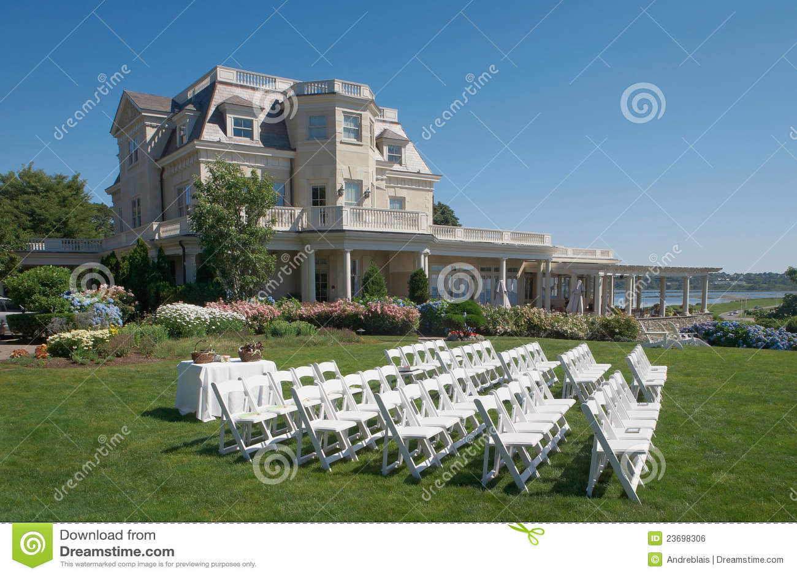 Wedding Ceremony Site Royalty Free Stock Image