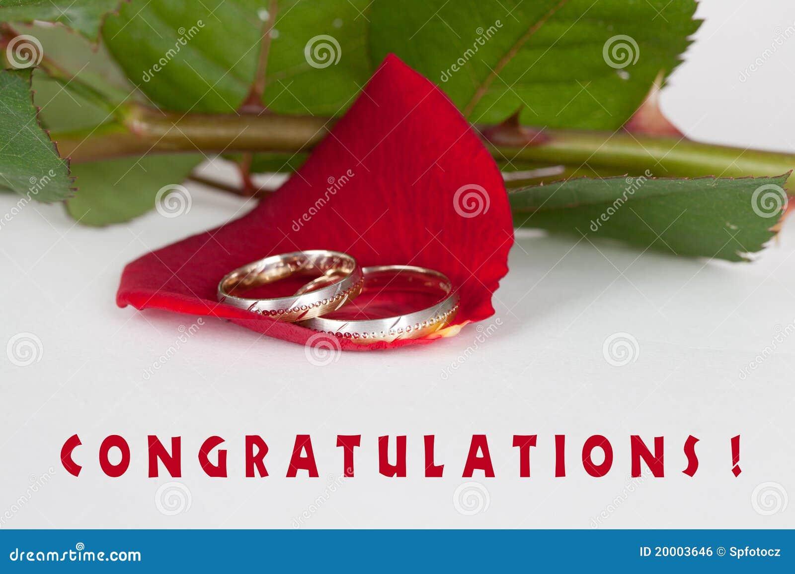 Wedding congratulations stock photo. Image of berries ...