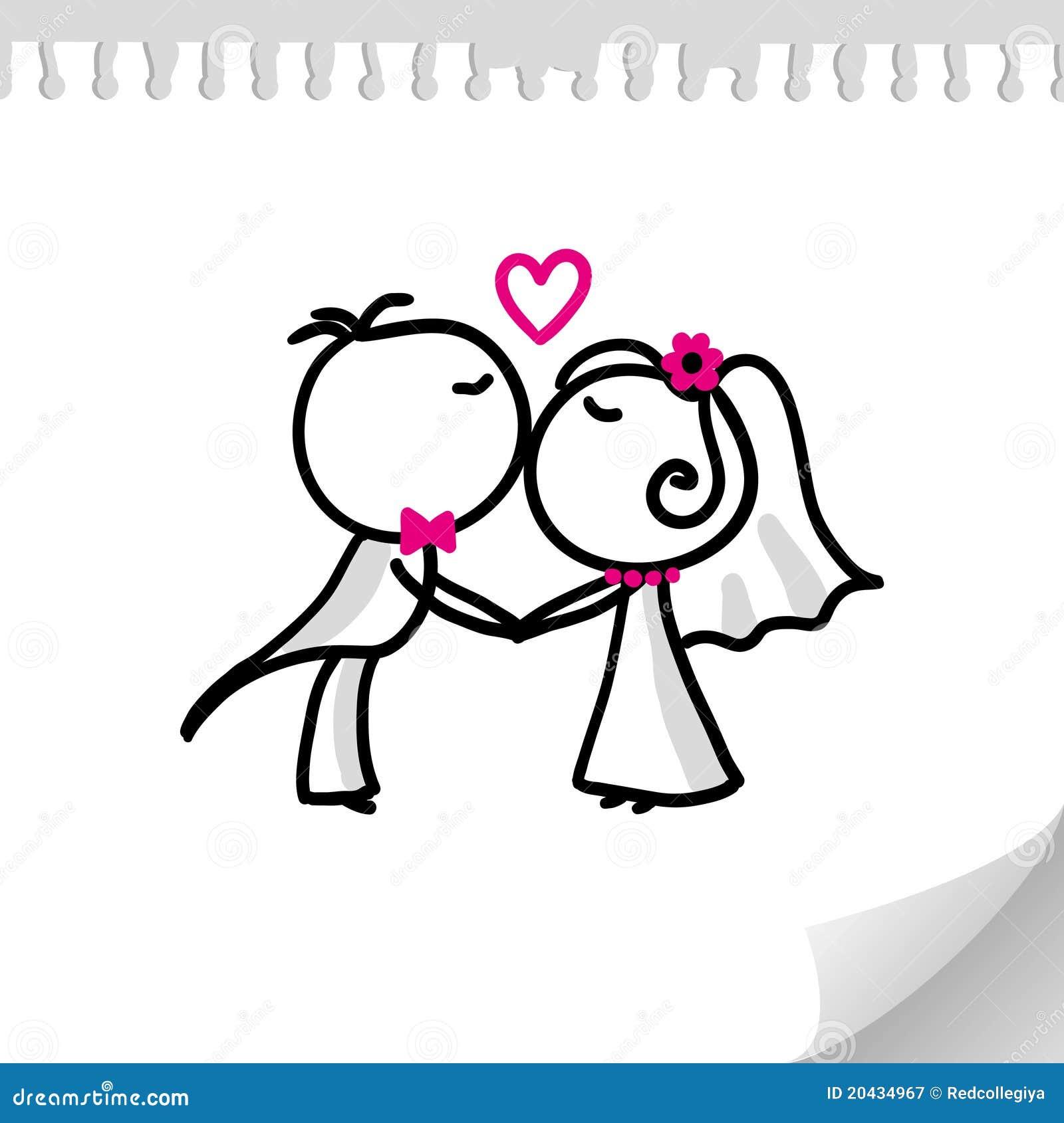 Wedding Couple Royalty Free Stock Photography - Image: 20434967