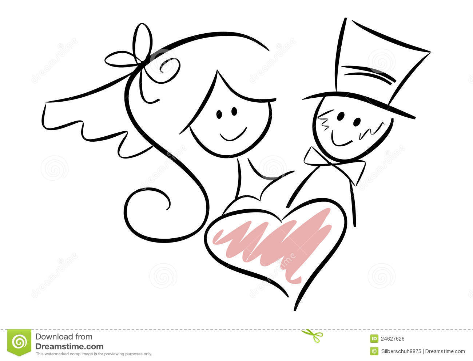free clipart of wedding couple - photo #40