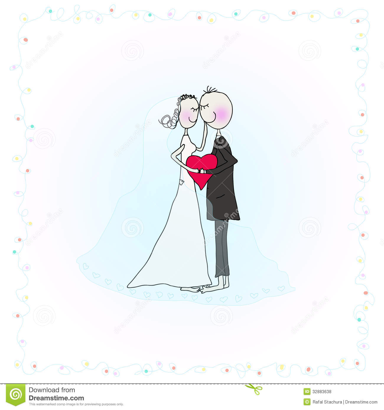 Wedding Couple Royalty Free Stock Photos - Image: 32883638